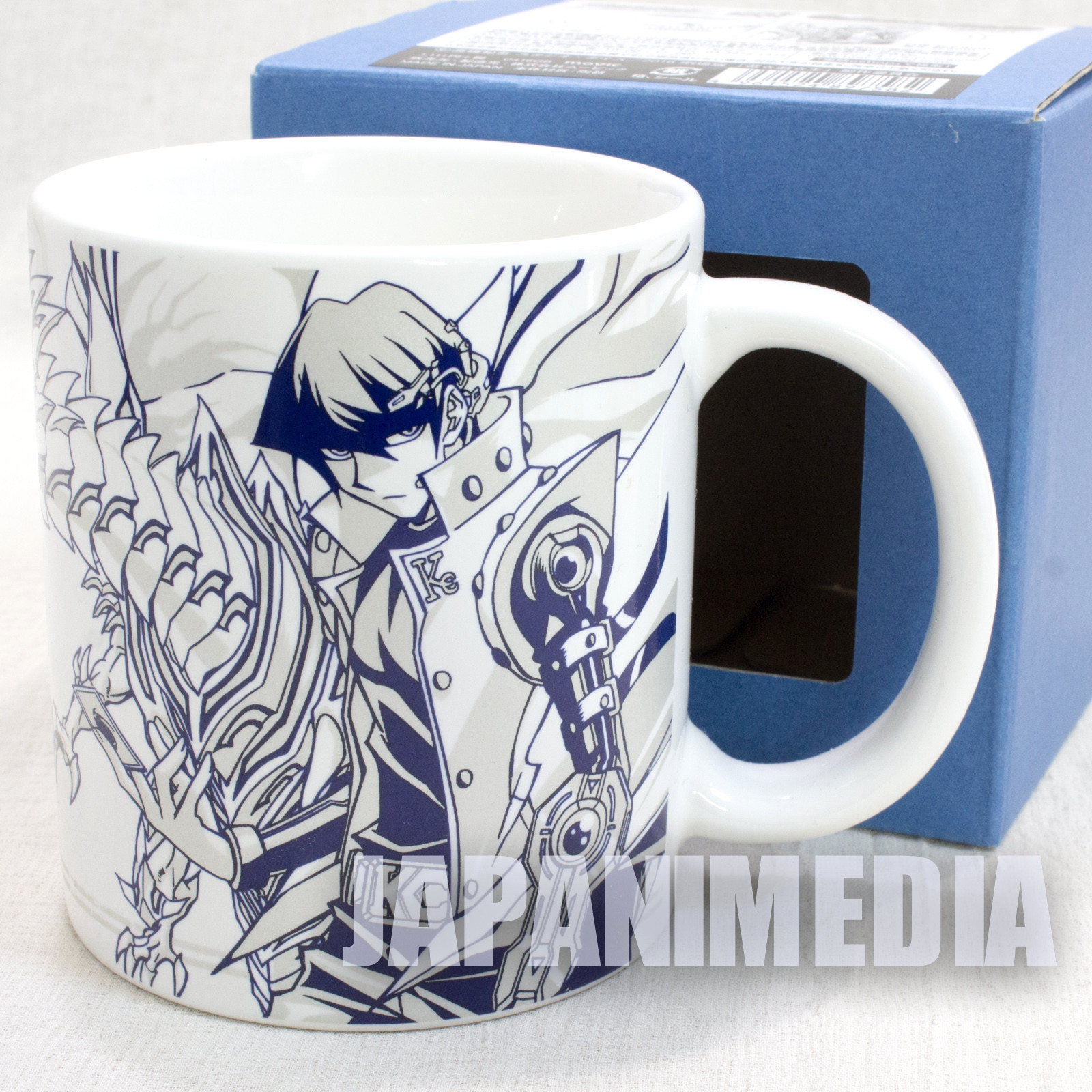 Yu-Gi-Oh! Seto Kaiba & Blue-Eyes White Dragon 20th Mug JAPAN ANIME MANGA