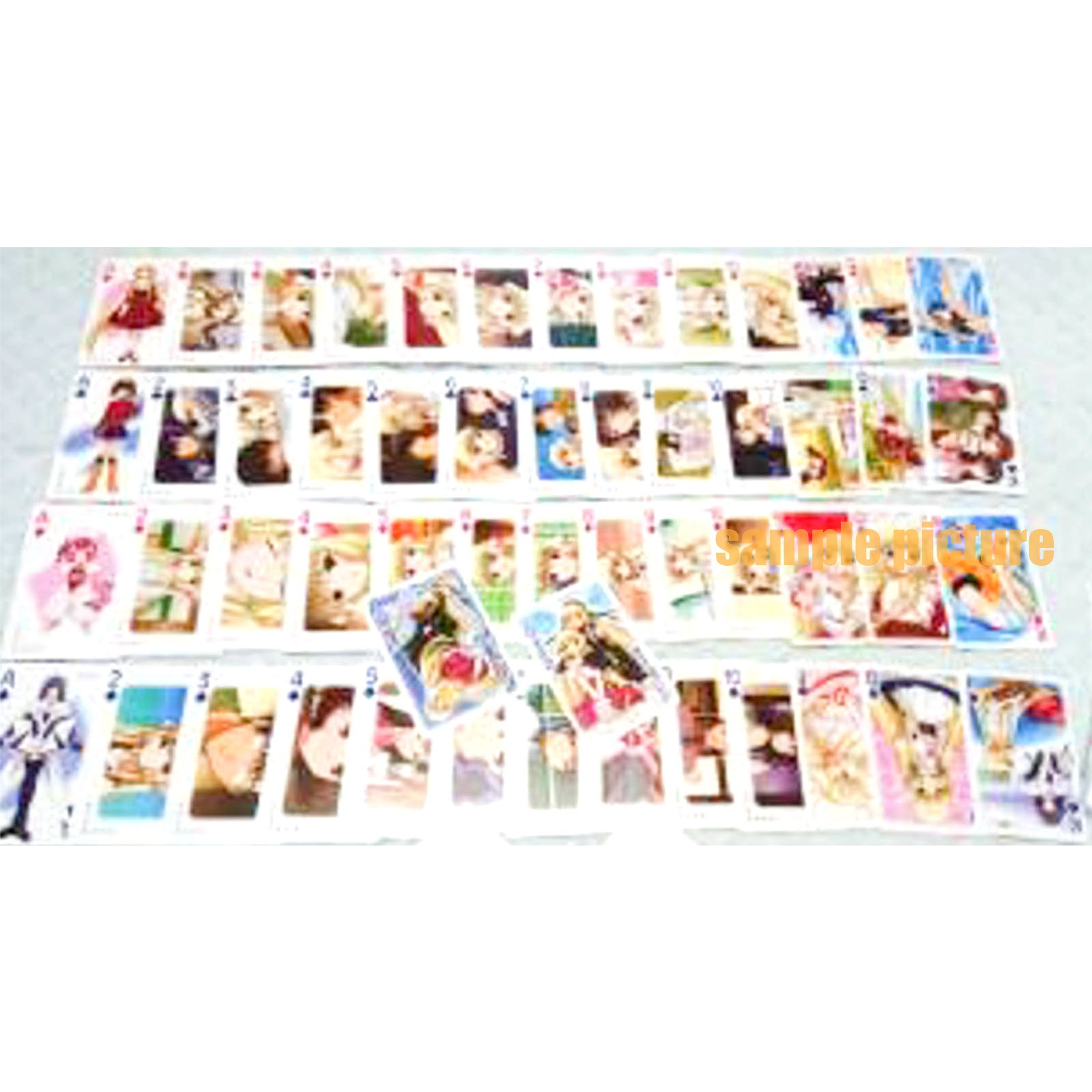 Chobits Character Playing Card CLAMP JAPAN ANIME