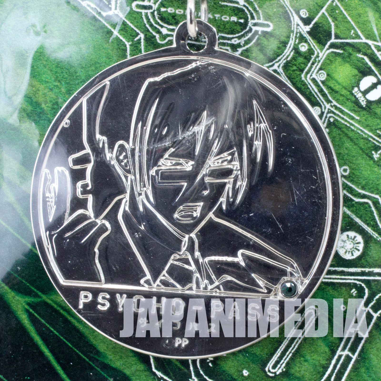 Psycho-Pass Nobuchika Ginoza Medal mascot strap JAPAN ANIME