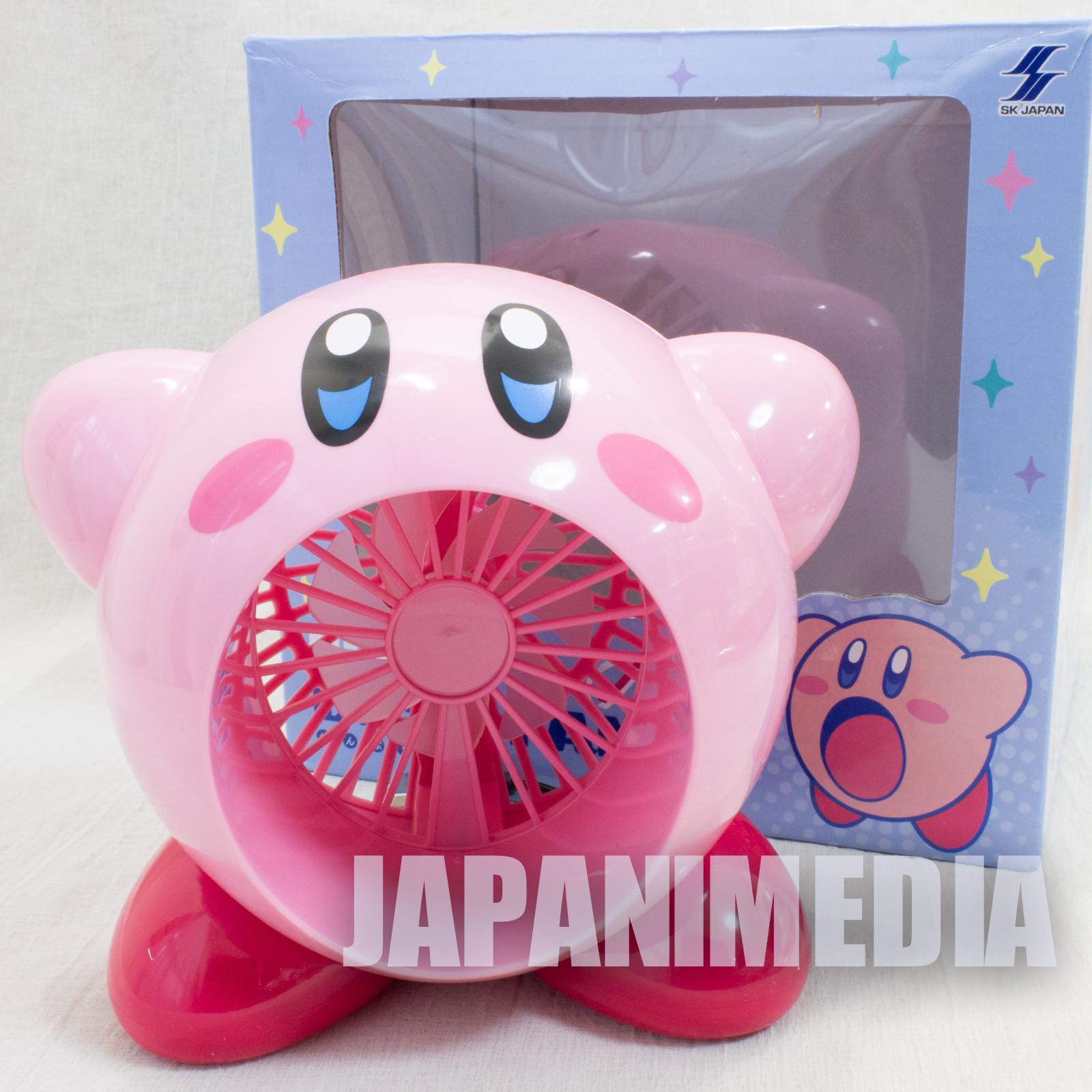 Kirby Super Star Figure Desk Fan USB Powered JAPAN GAME NINTENDO