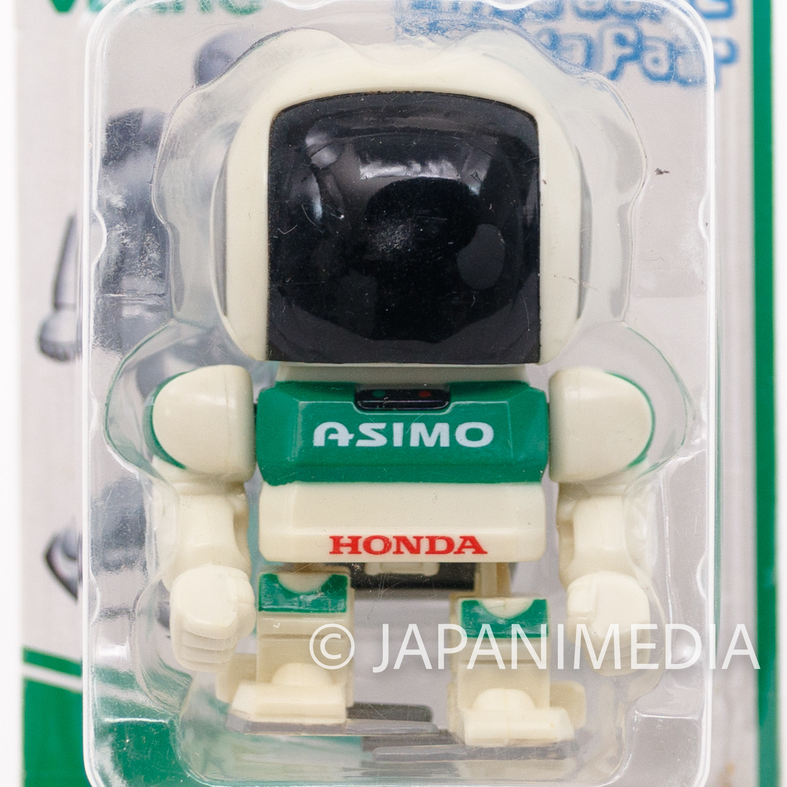 HONDA Asimo Mascot Wind-Up Figure Green Color Ver. JAPAN