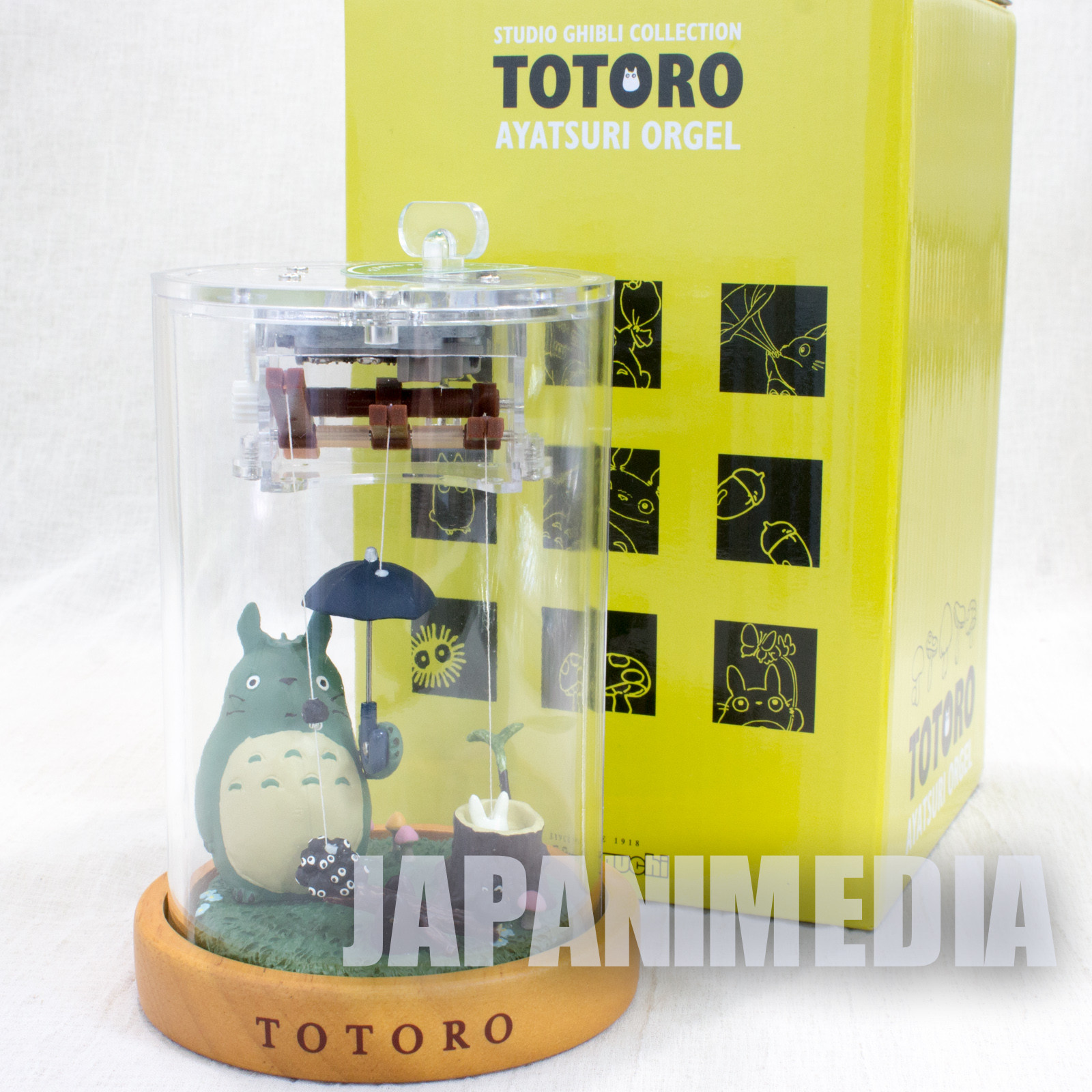 RARE! My Neighbor Totoro Marionette Music Box Figure Ghibli JAPAN ANIME ORGEL