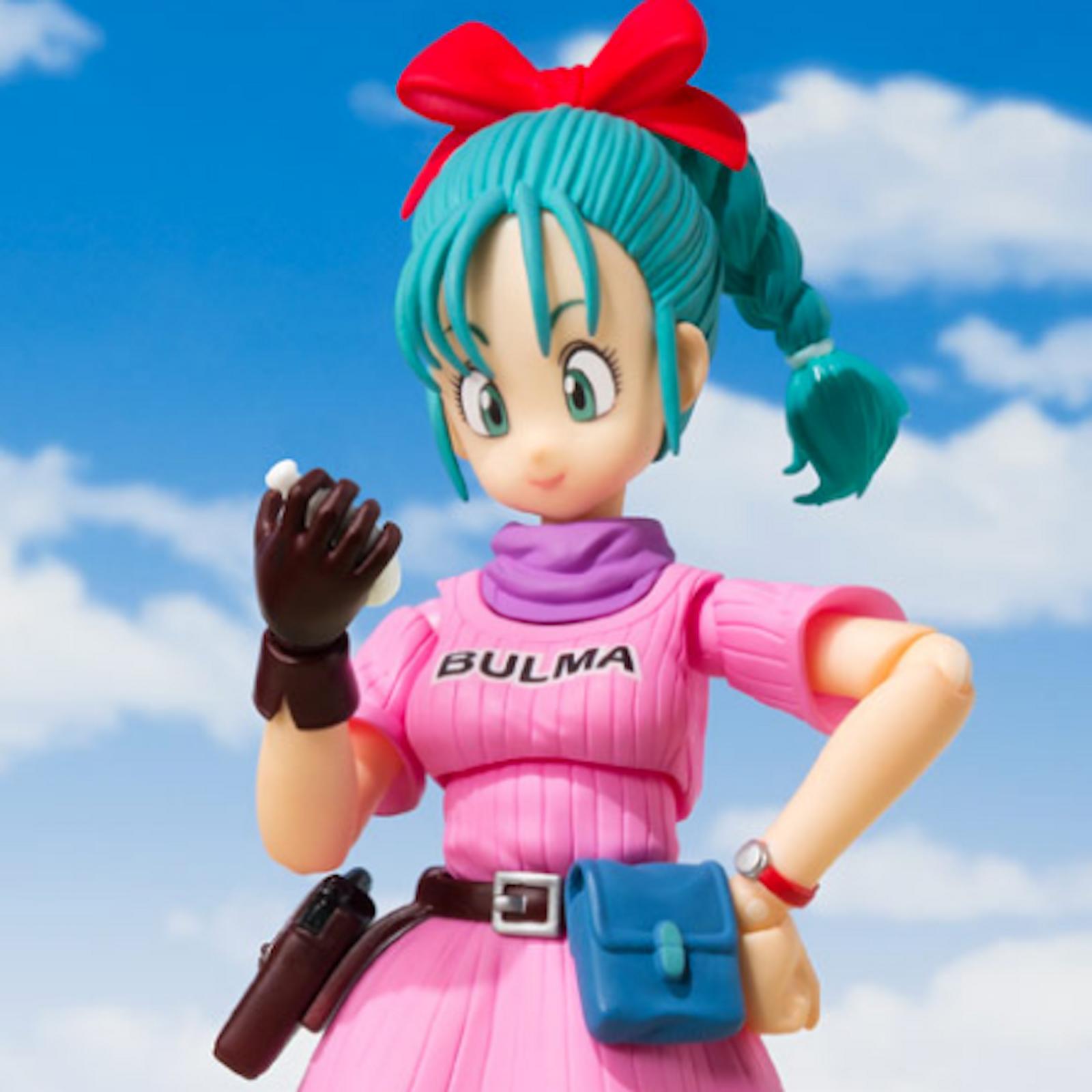 Dragon Ball Z Bulma S.H. Figuarts Action Figure BANDAI JAPAN ANIME