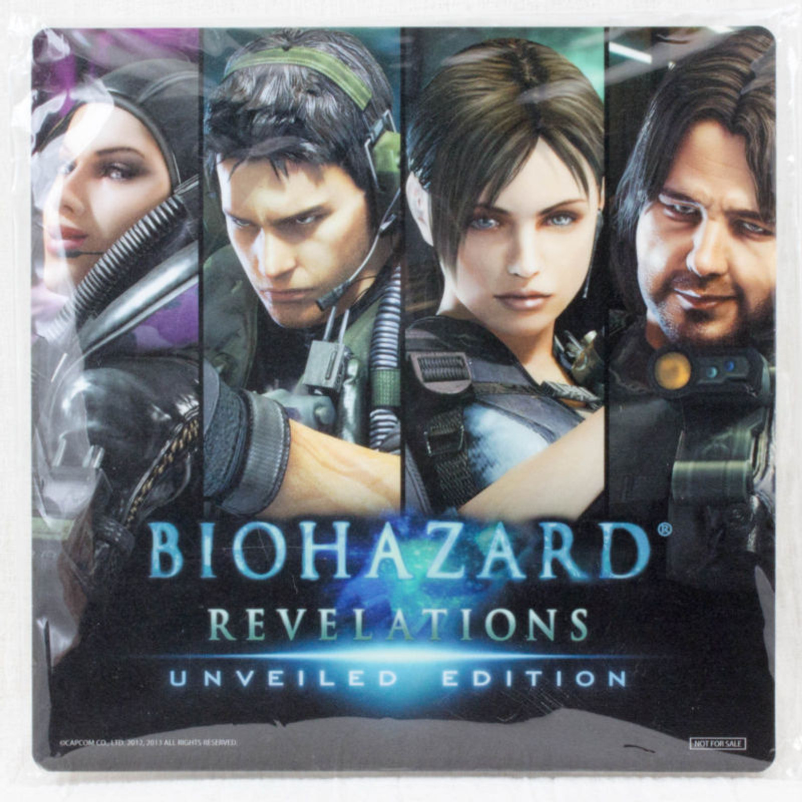 RARE RESIDENT EVIL Biohazard Revelations Mouse Pad Limted Item Capcom JAPAN GAME Resident Evil