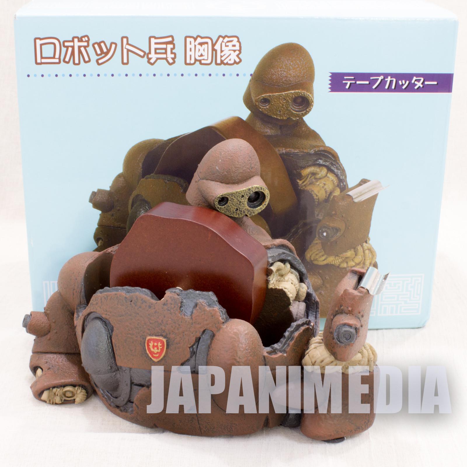 RARE! Castle in the Sky Robot Soldier Laputa Figure Tape Dispenser Ghibli ANIME