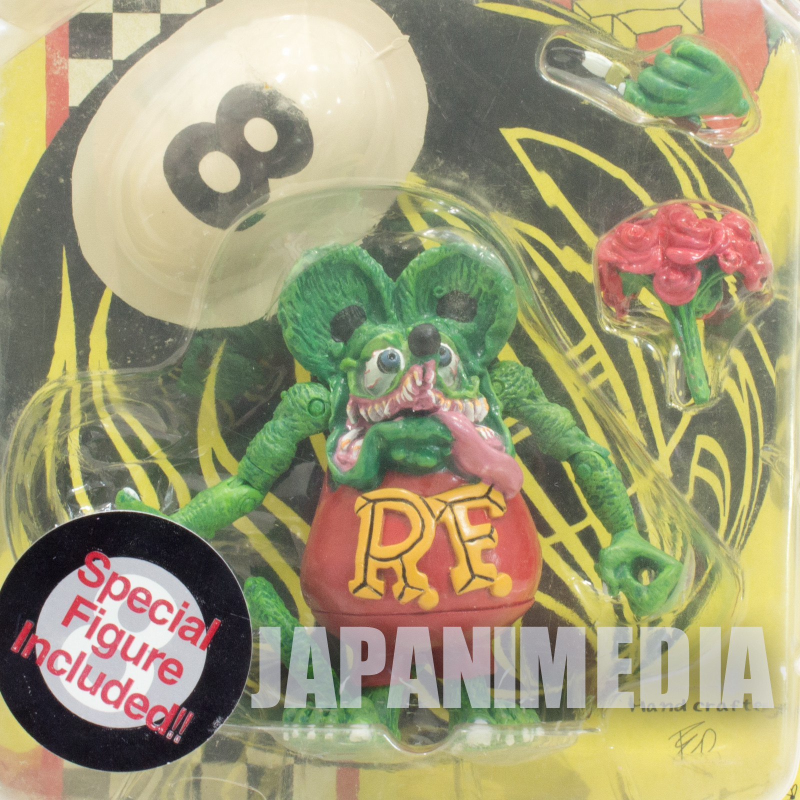 RAT FINK Action Figure Series Normal Ver. Planet Toys Art Storm 1998 JAPAN