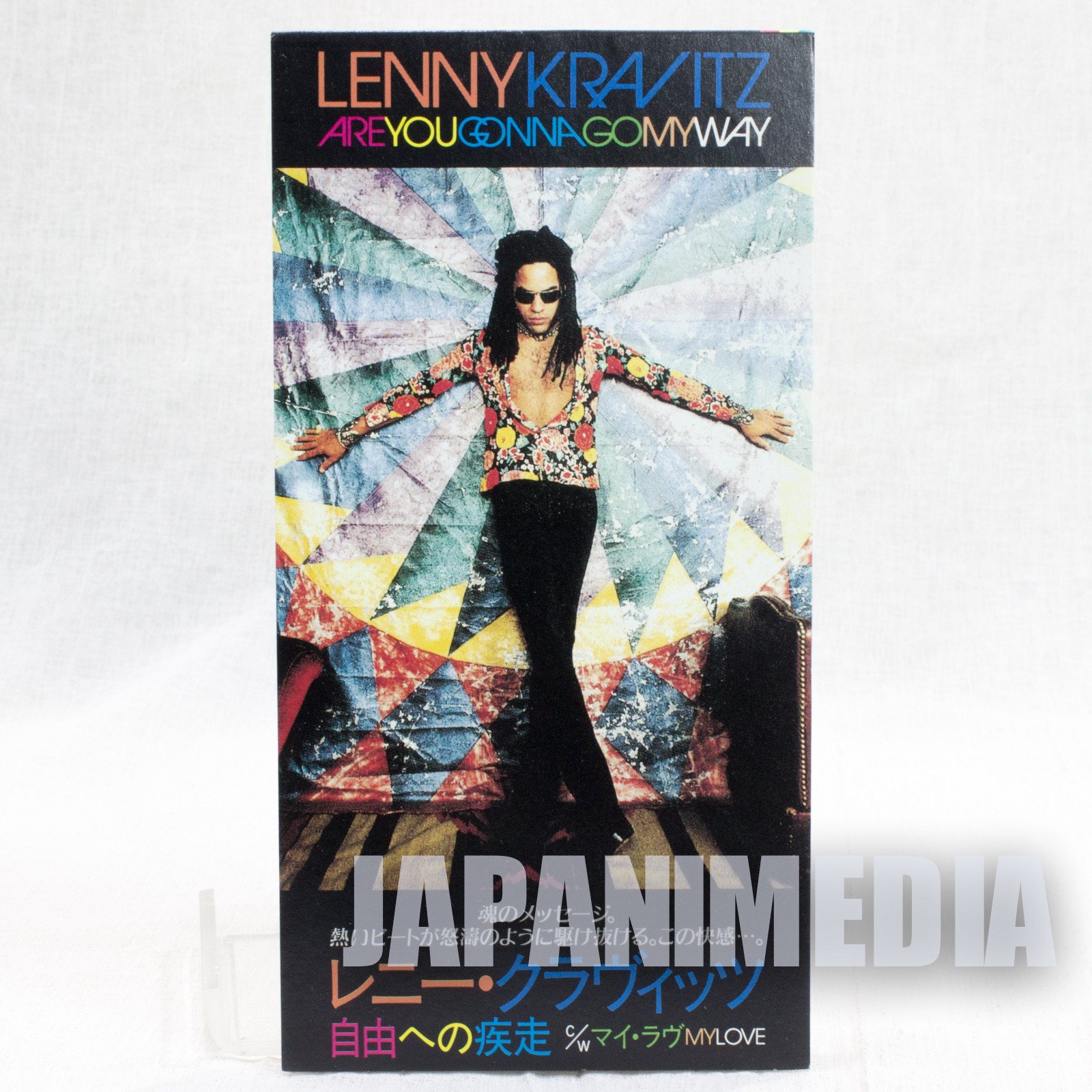 LENNY KRAVITZ ARE YOU GONNA GO MY WAY Japan 1993 8cm 3inch CD Single
