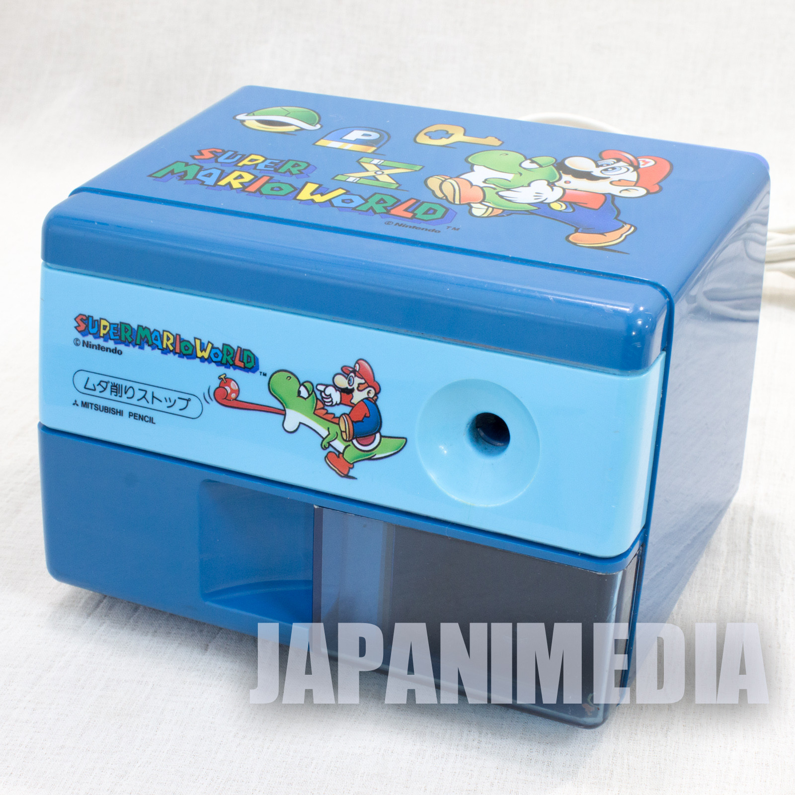 RARE! Super Mario World Bros. Electric Pencil Sharpener JAPAN GAME Nintendo