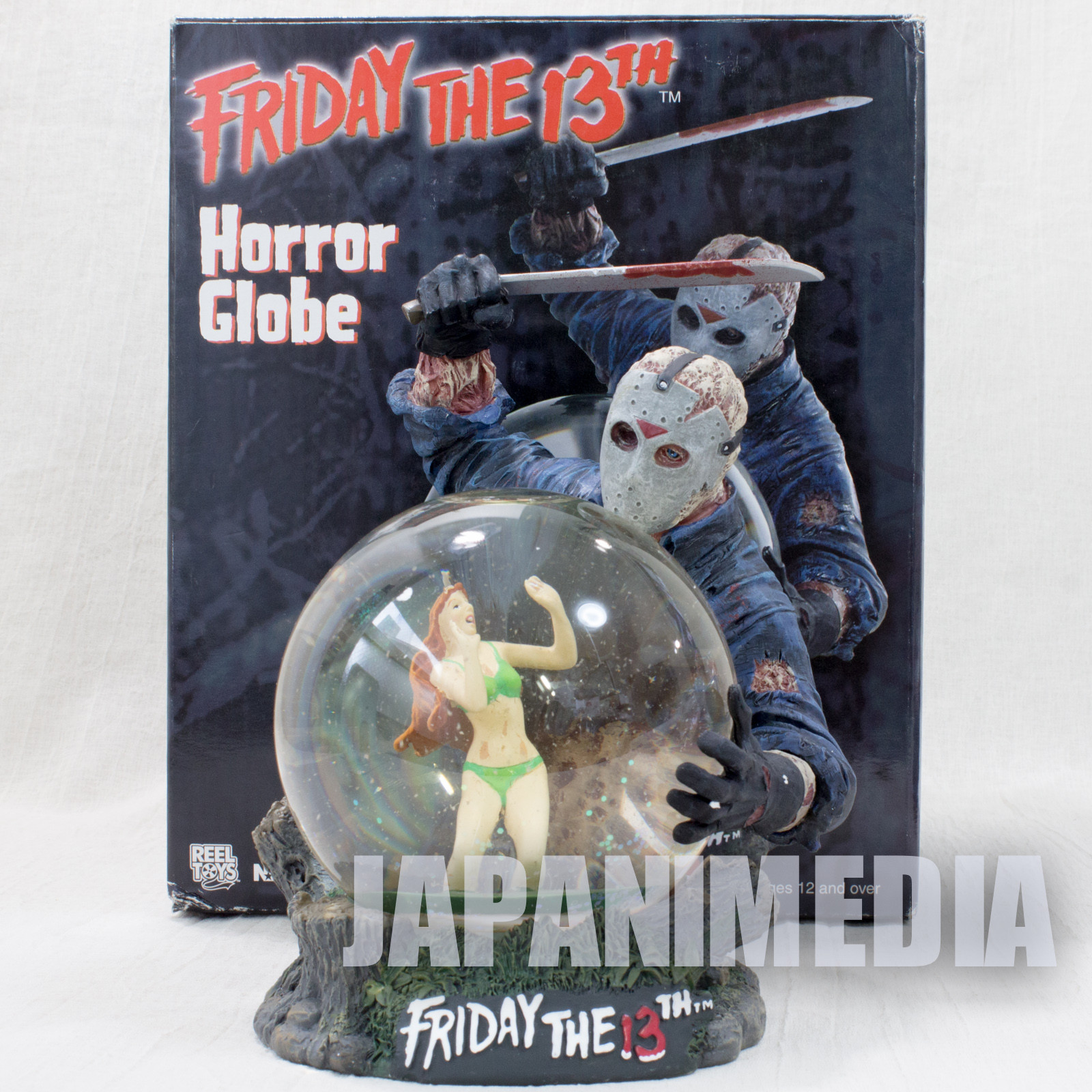 Friday The 13th Jason Voorhees Figure Horror Globe NECA