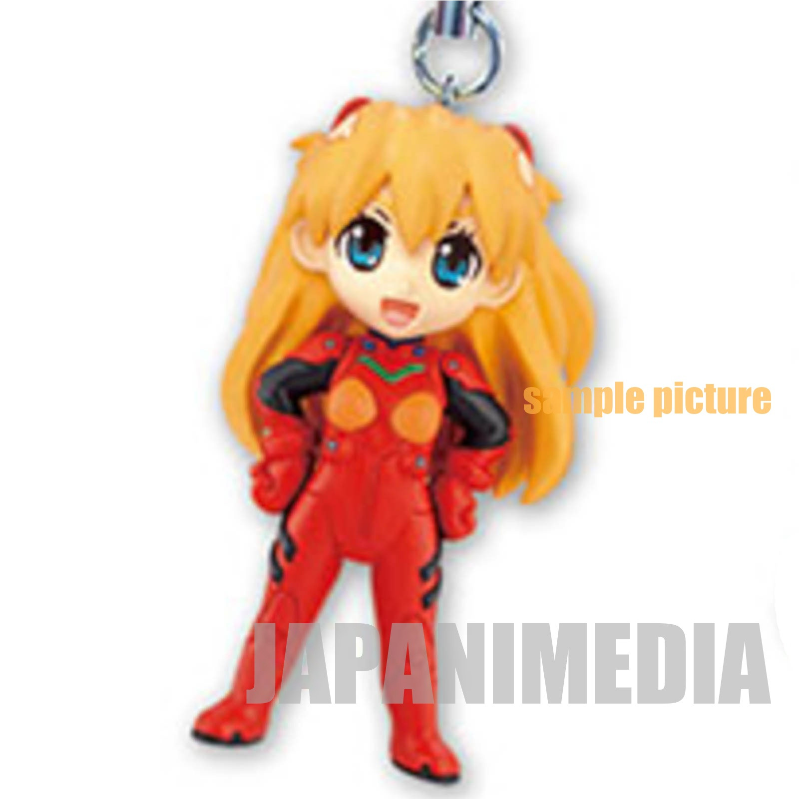 Evangelion Asuka Langley Petit EVA Mascot Mini Figure Strap ANIME JAPAN