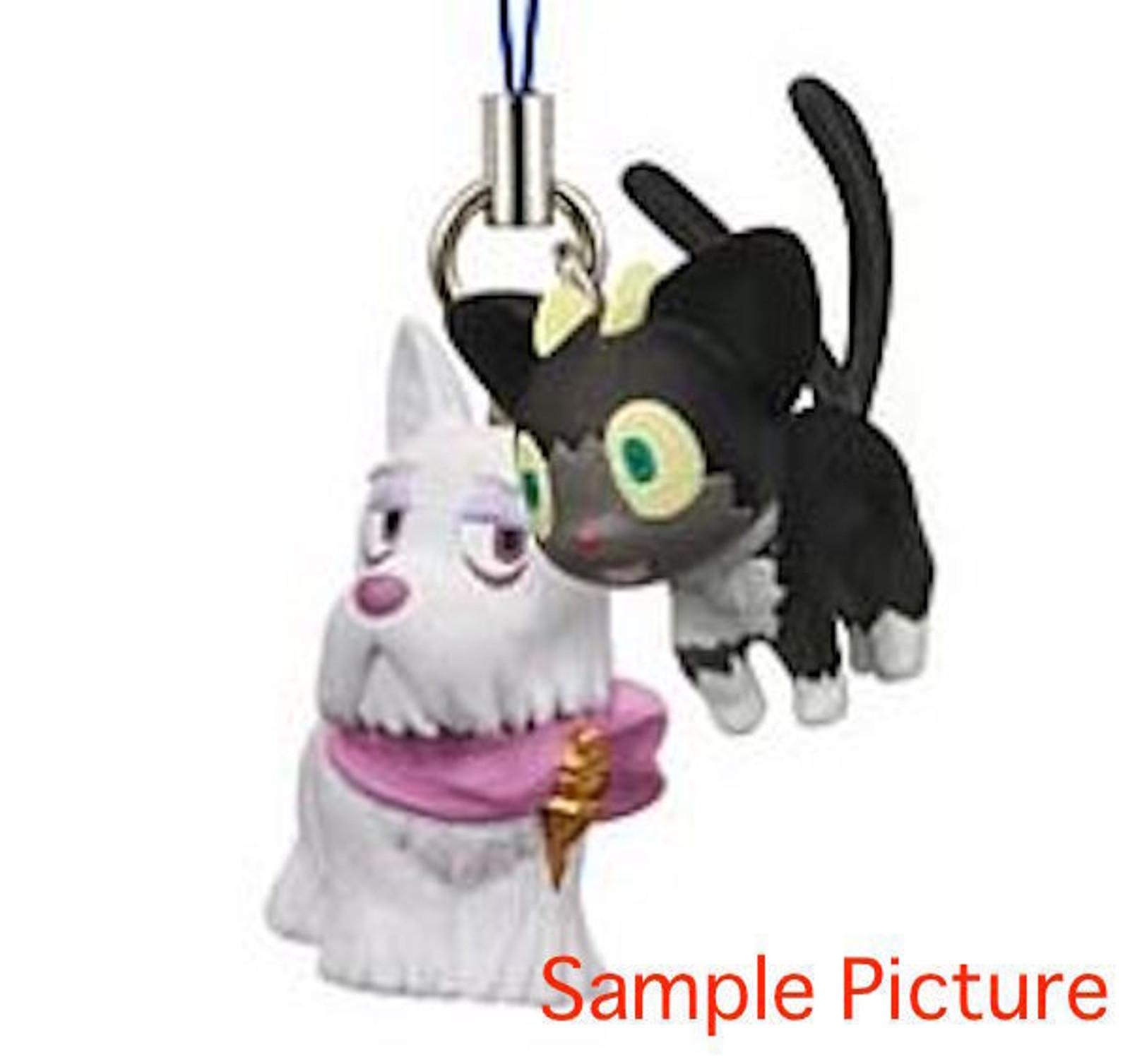 Blue Exorcist Mephisto Dog & Kuro Mascot Figure Strap JAPAN ANIME MANGA