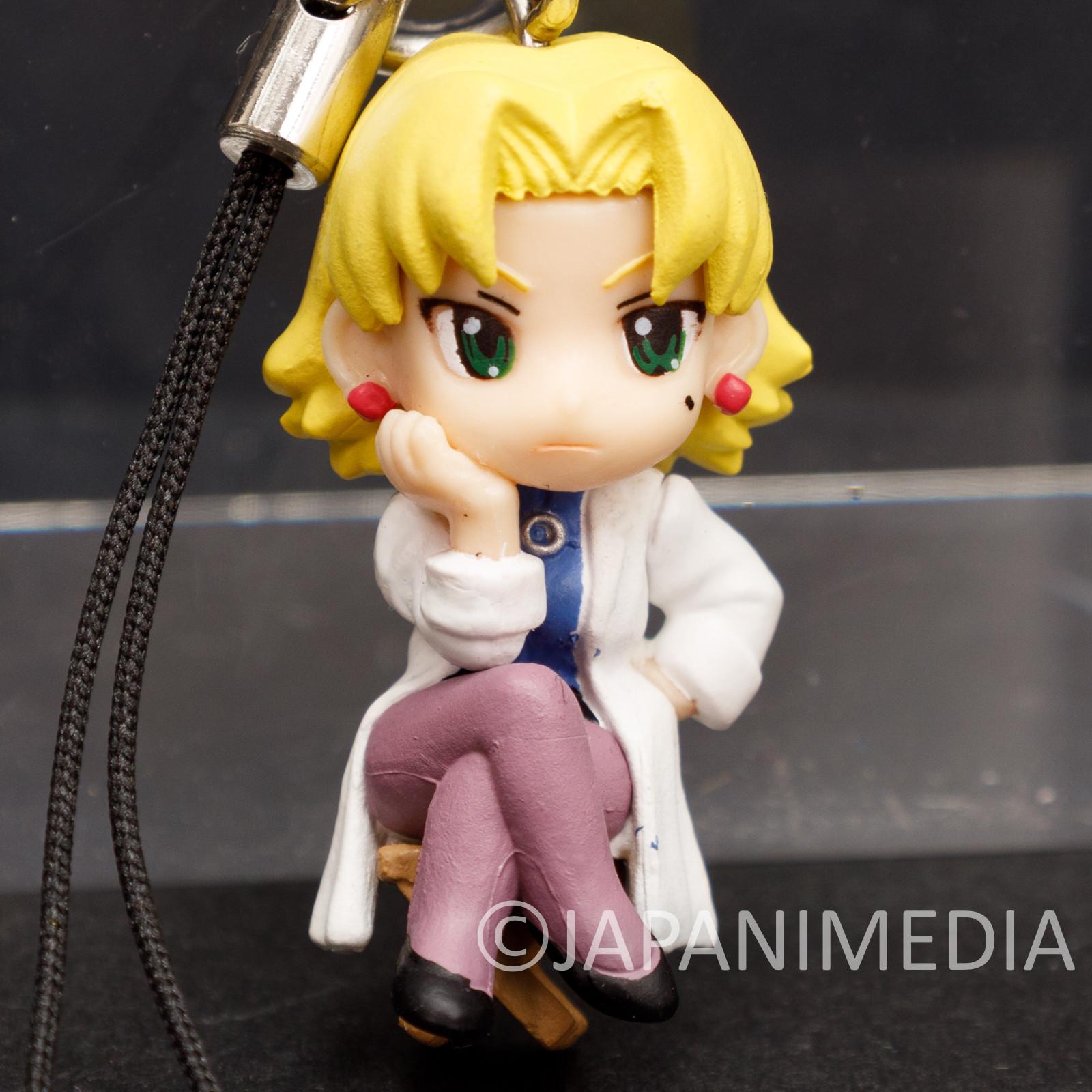 Evangelion Ritsuko Akagi Petit EVA Mascot Mini Figure Strap ANIME JAPAN