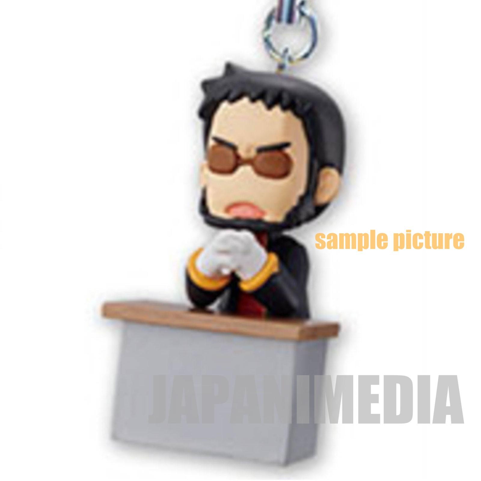Evangelion Gendo Ikari Petit EVA Mascot Mini Figure Strap ANIME JAPAN