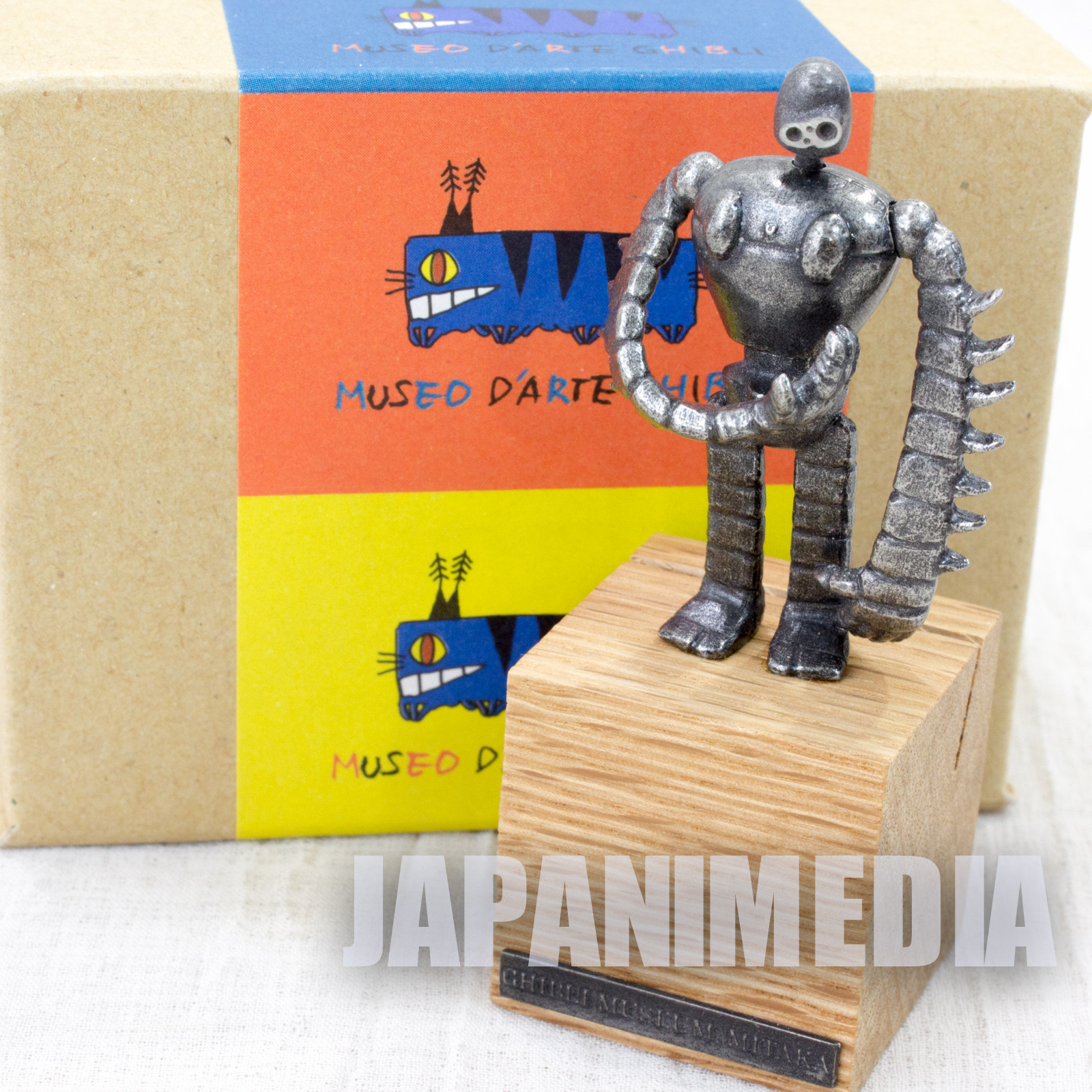 Castle in the Sky Robot Soldier Figure Card Stand Ghibli Museum Limited 2