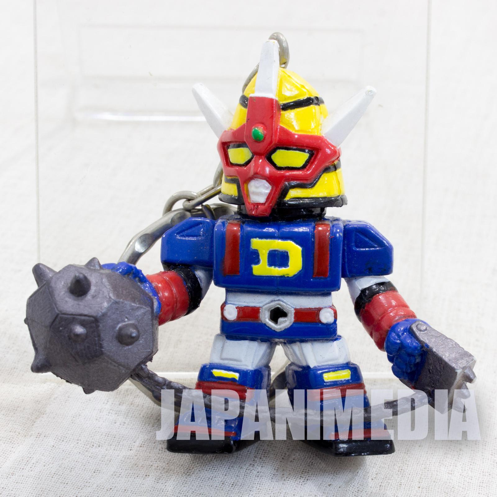 Denshi Sentai Denjiman Figure Key Chain JAPAN TOKUSATSU DENZIMAN