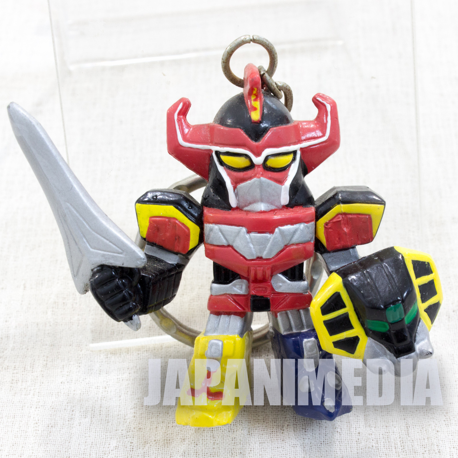 Kyōryū Sentai Zyuranger Figure Key Chain JAPAN TOKUSATSU DENZIMAN