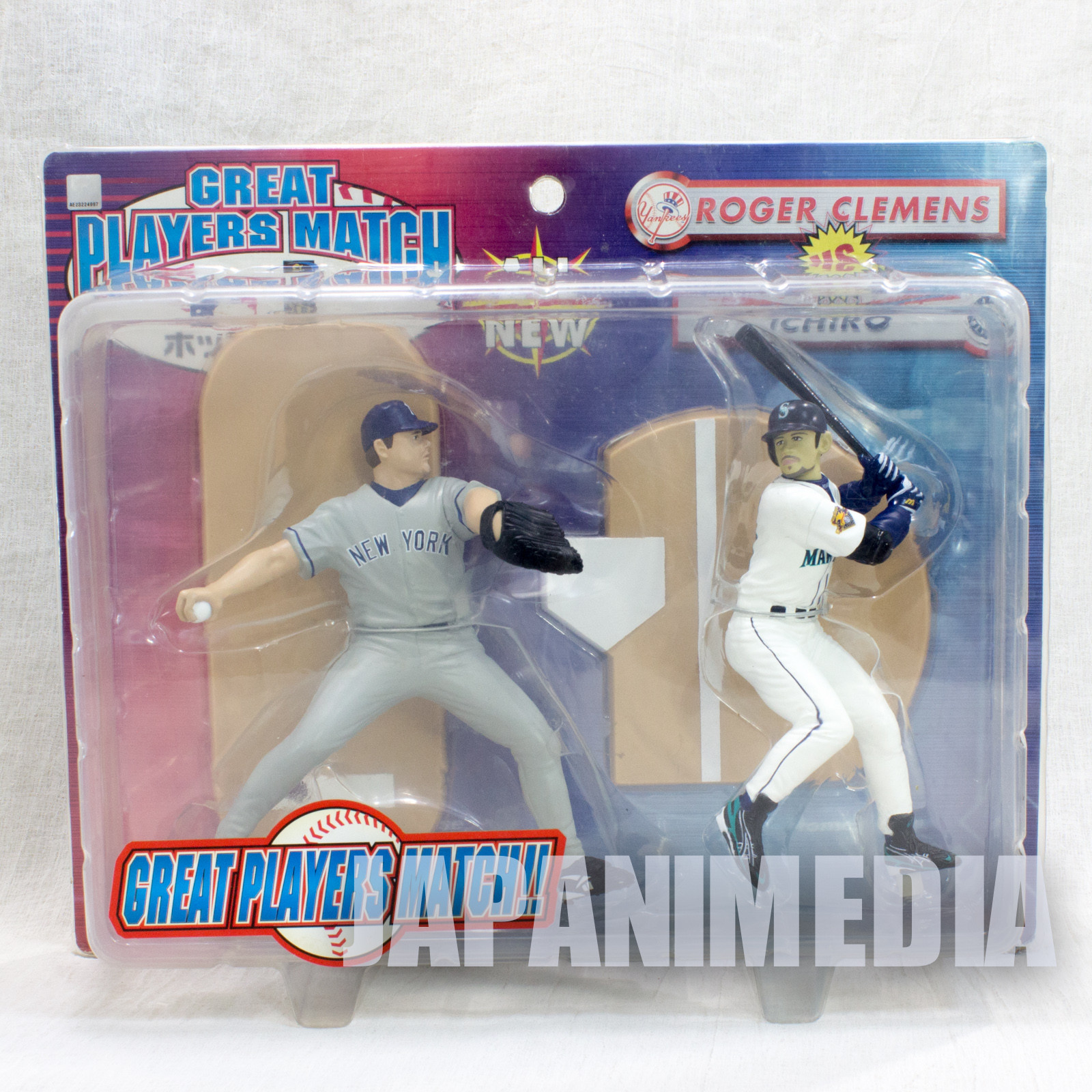 Baseball William Roger Clemens (NYY) vs Ichiro Suzuki (SEA) Great Players Mathch More Realism Figure