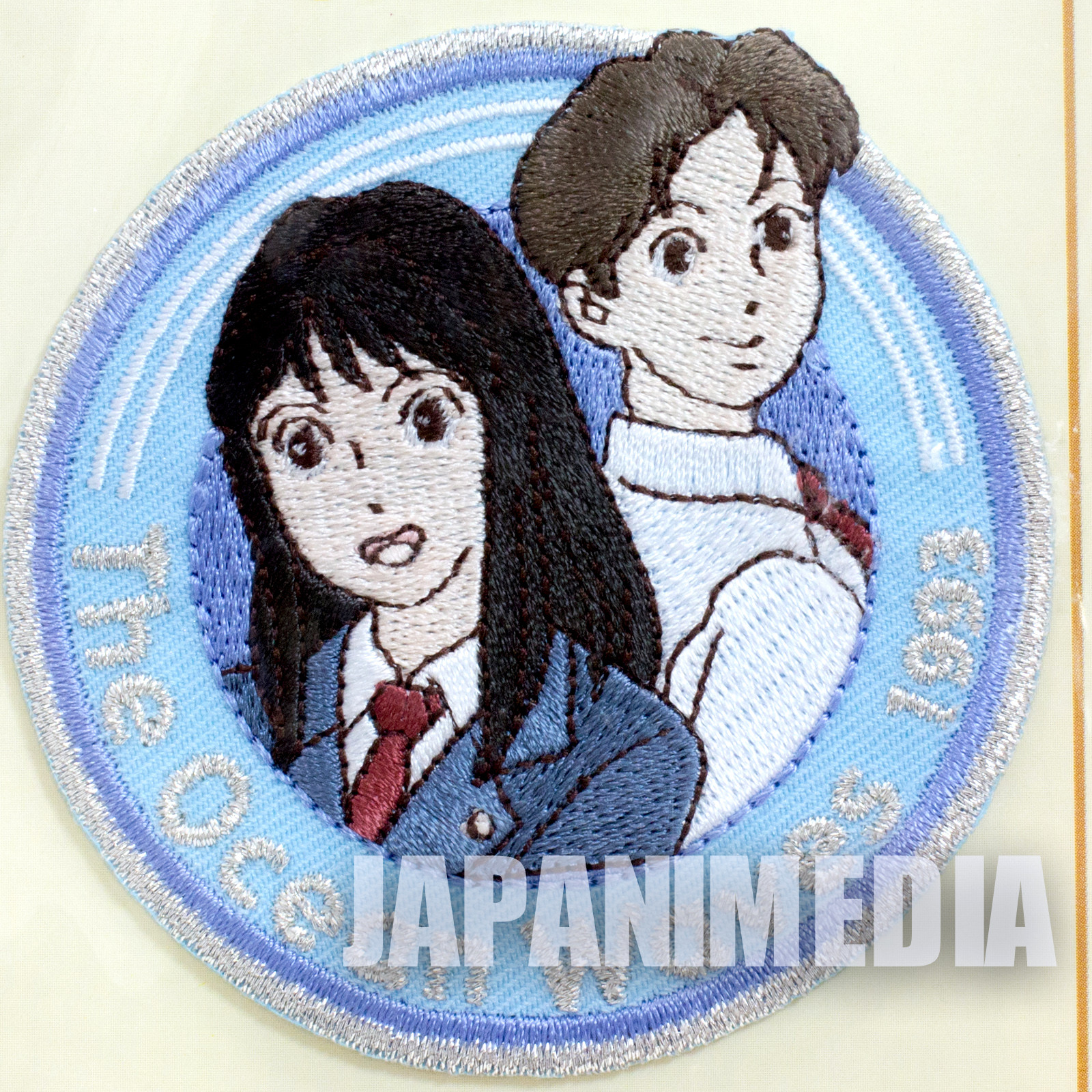 The Ocean Waves Taku Morisaki & Rikako Muto Emblem Badge Wappen JAPAN ANIME
