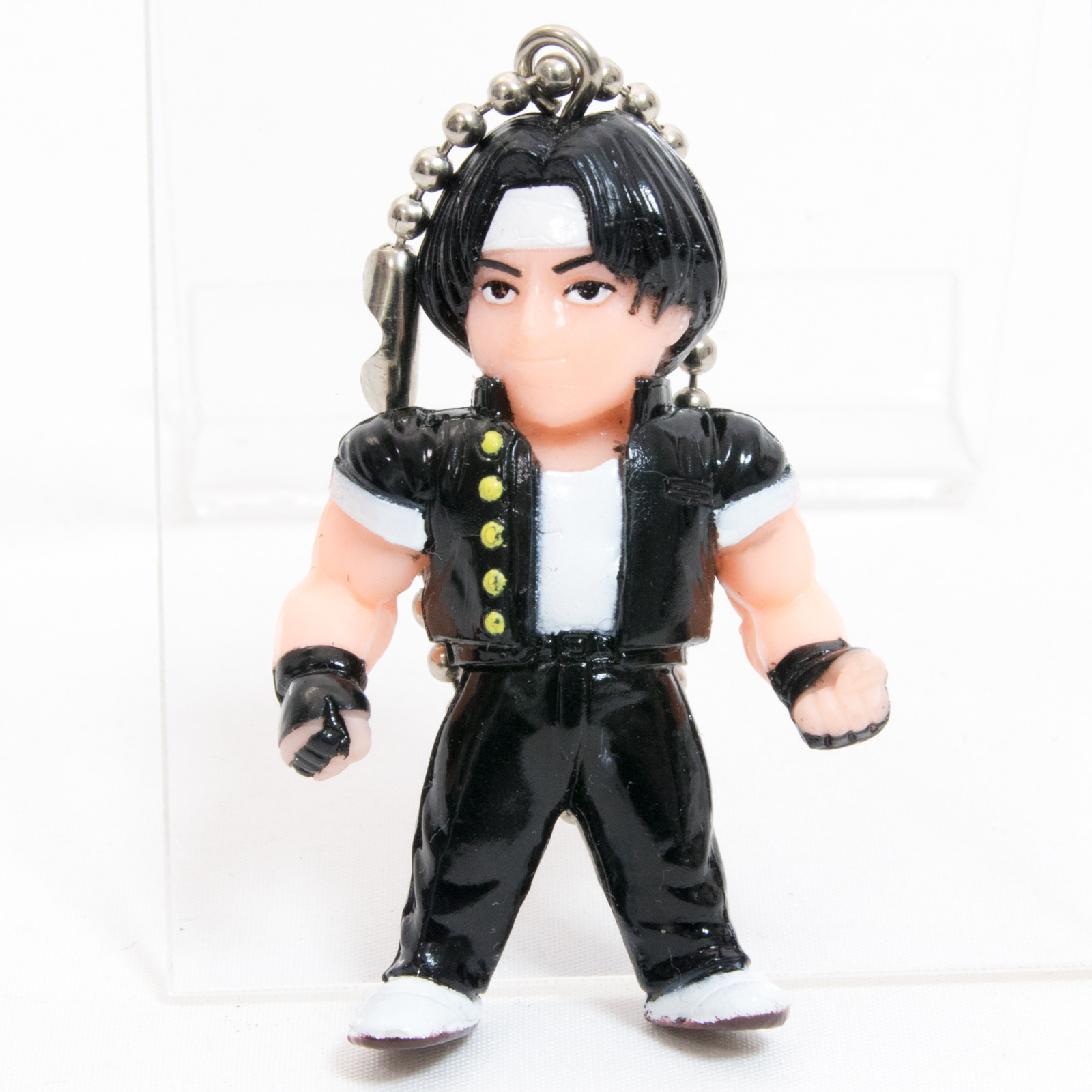 KOF King of Fighters Kyo Kusanagi Figure Keychain SNK JAPAN GAME