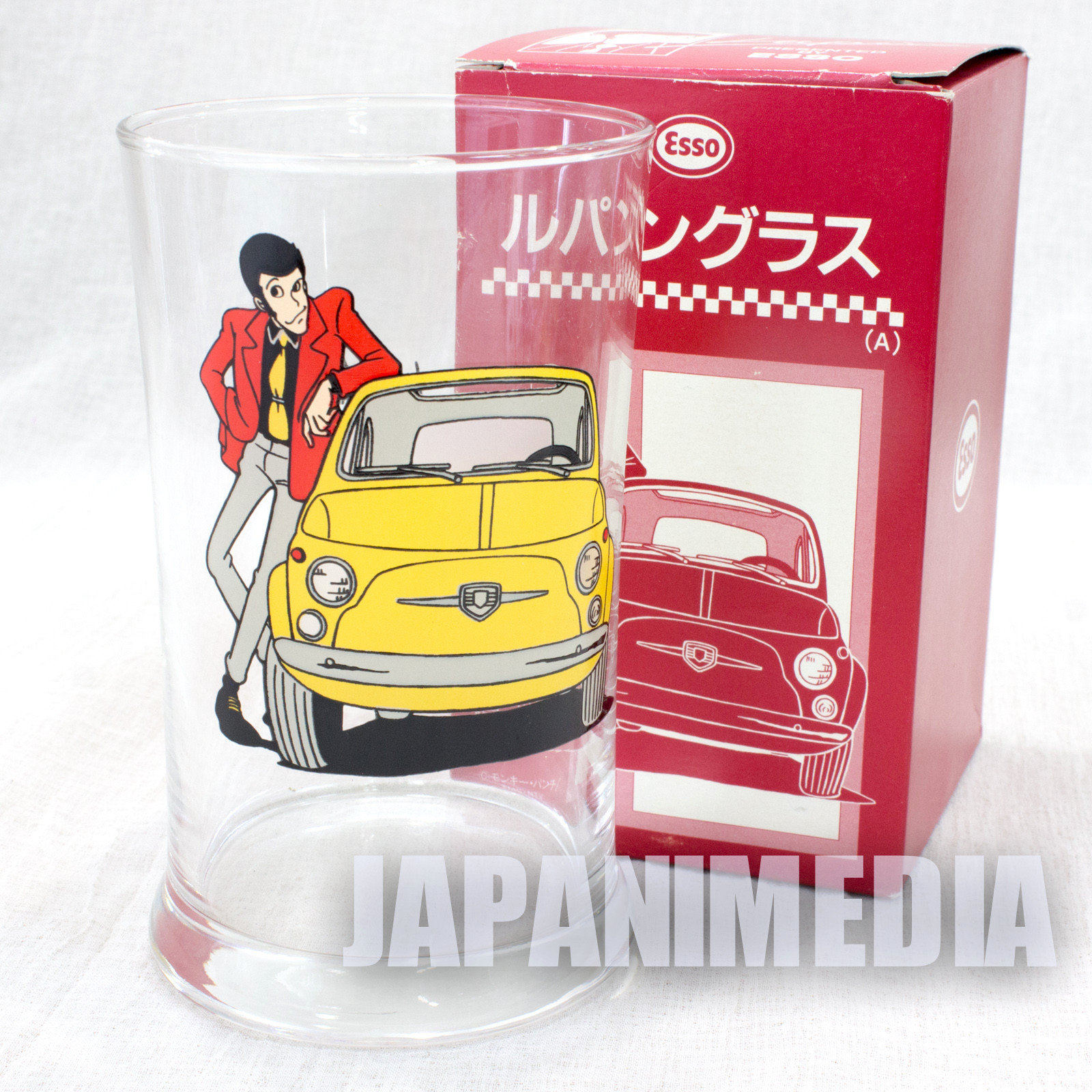 Lupin the Third (3rd) Glass Esso Limited JAPAN ANIME 2