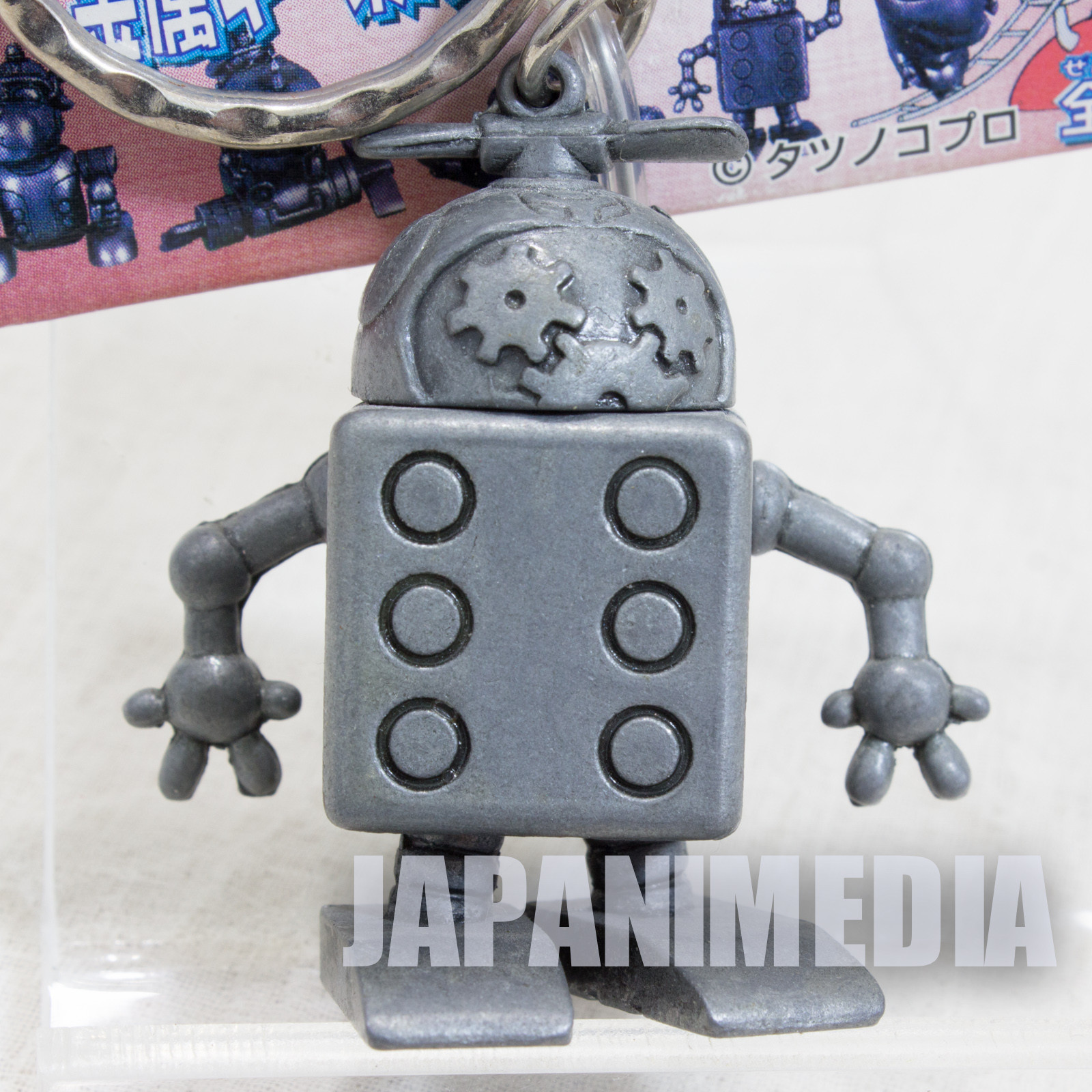 Yatterman Omotchama Tatsunoko Mecha Metal Figure Key Chain Banpresto