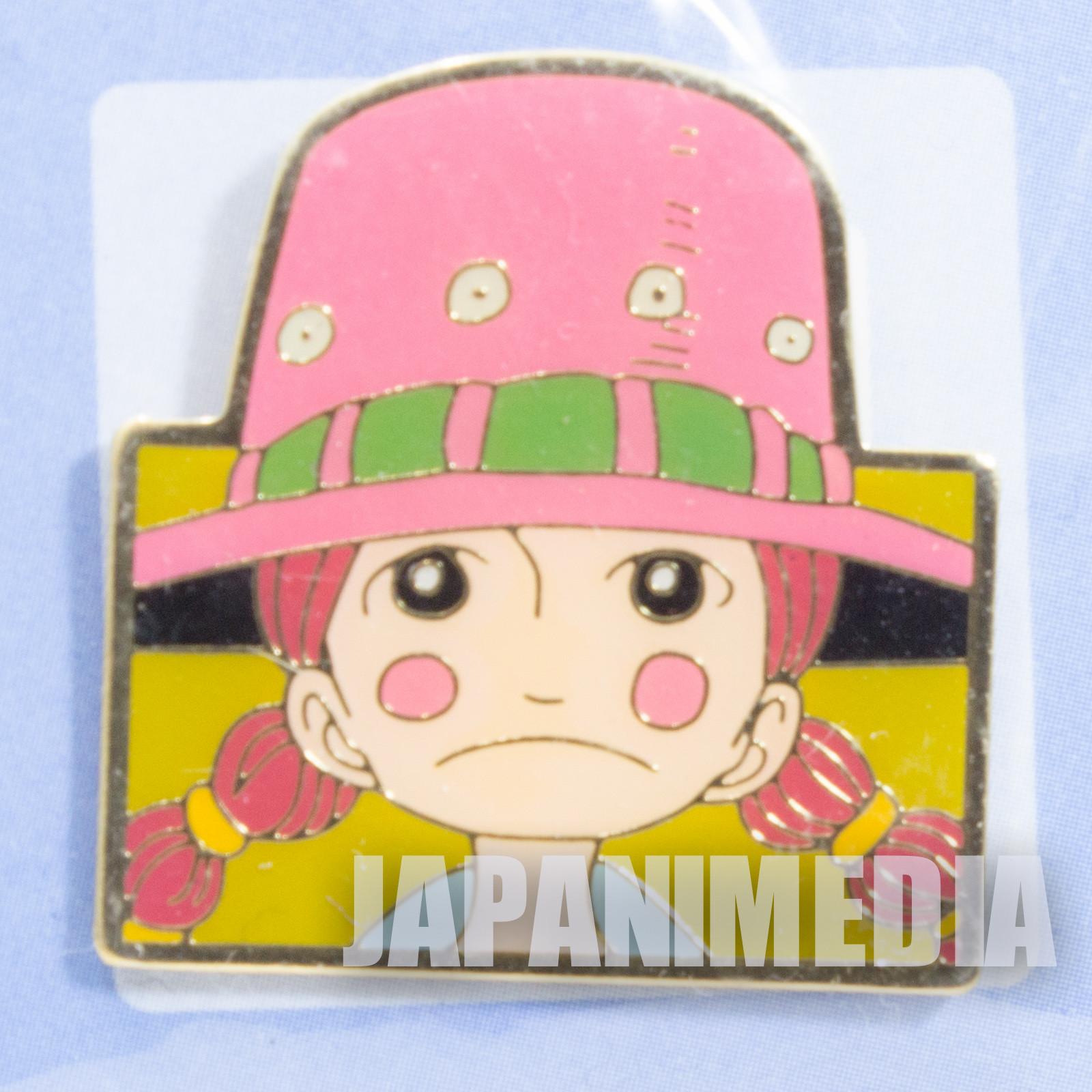 ONE PIECE Miss Goldenweek (Marianne) Weekly Jump Character Pins JAPAN ANIME MANGA