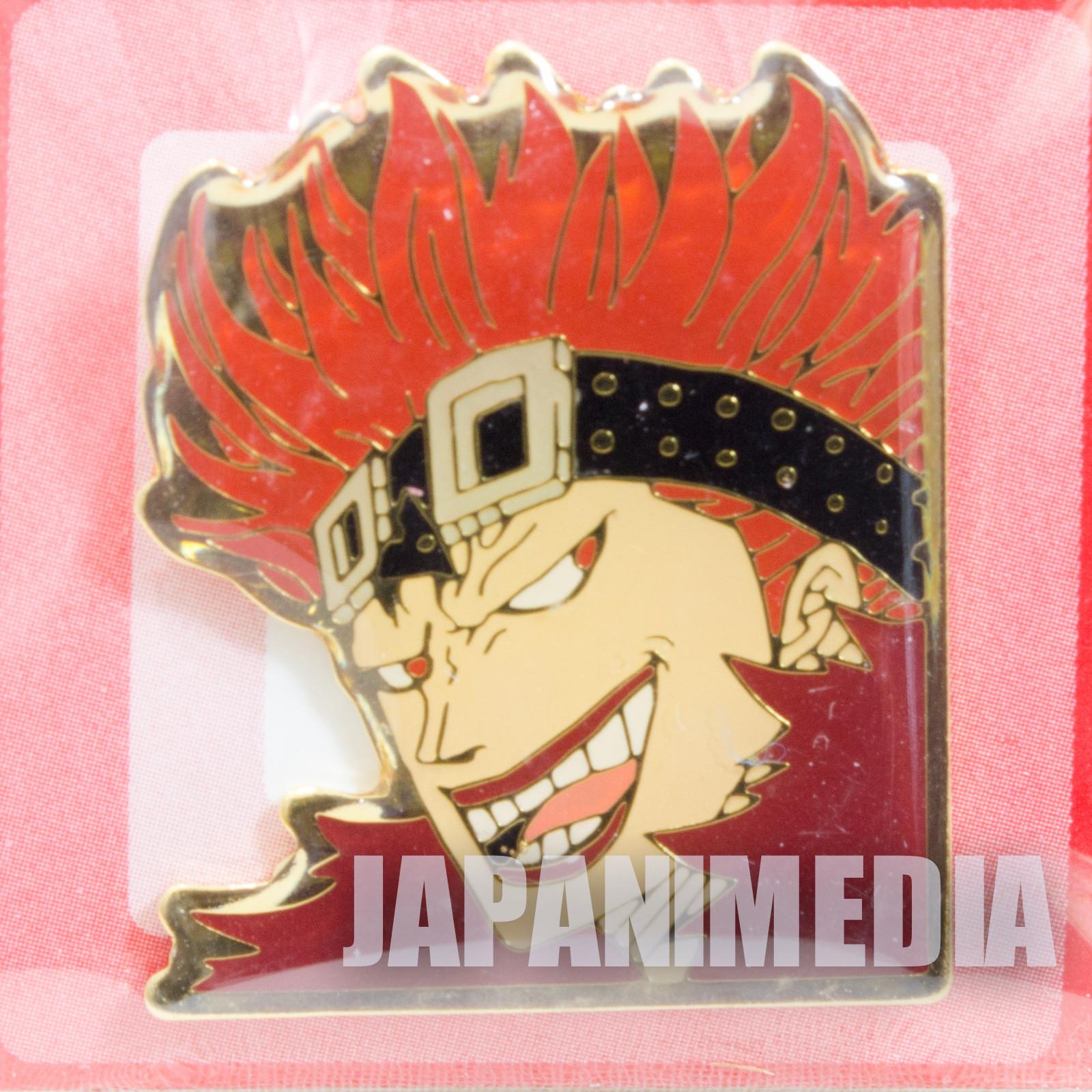 ONE PIECE Eustass Kid Weekly Jump Character Pins JAPAN ANIME MANGA