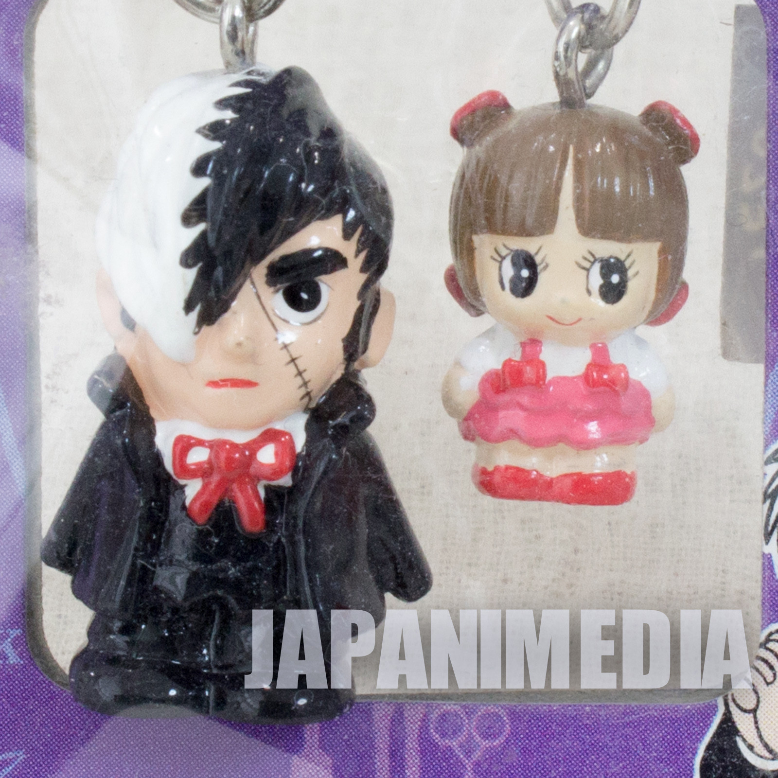 Black Jack Black Jack & Pinoko Mascot Figure charm 2pc set JAPAN ANIME