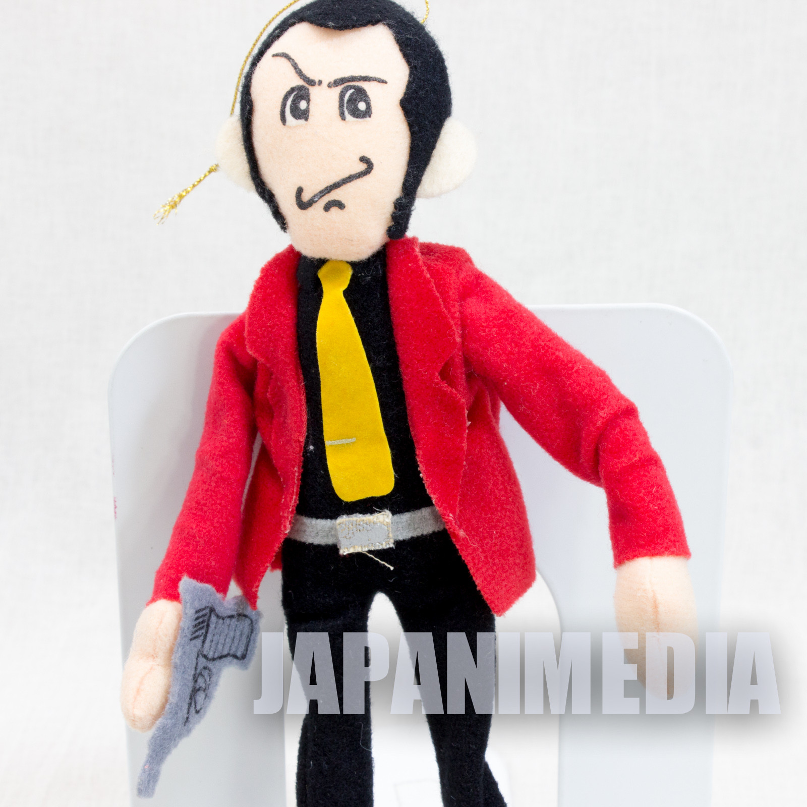 "Lupin the Third LUPIN Bendable Plus Doll Figure 10"" JAPAN ANIME"