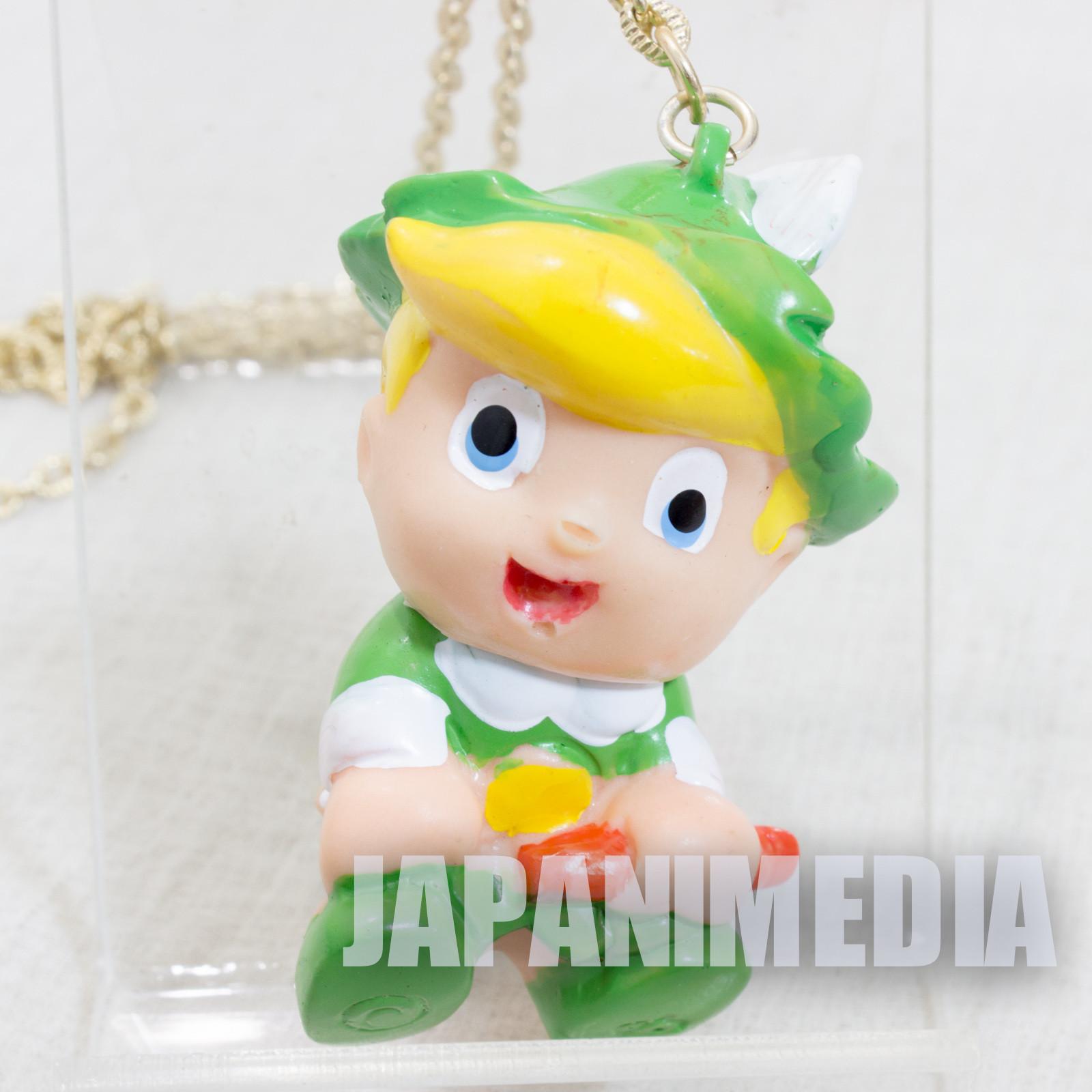 Retro Princess Knight Tink Mascot Soft Vinyl Figure Necklace Tezuka Osamu JAPAN