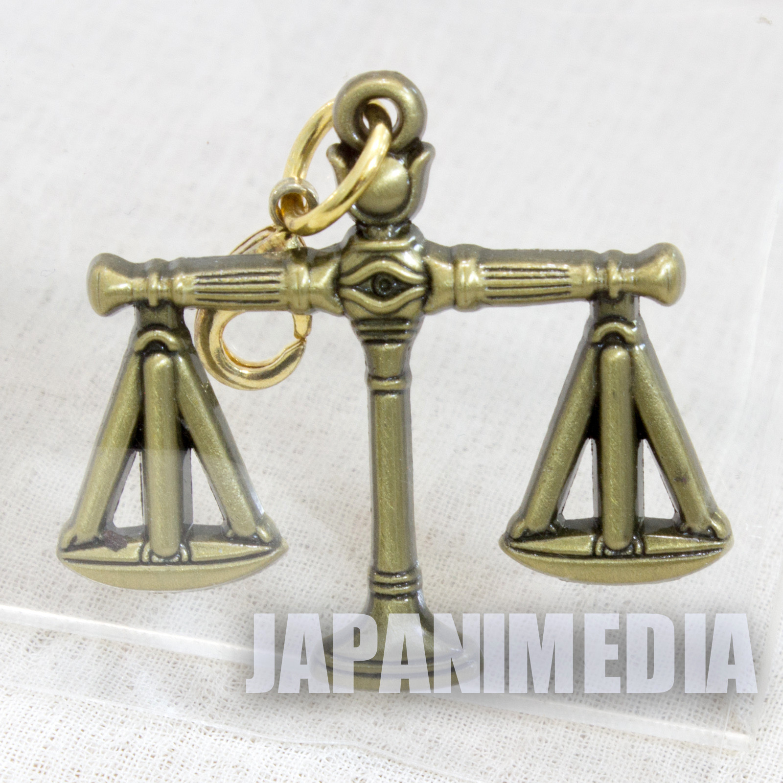 Yu-Gi-Oh! Millenium Scales 20th Millenium item Metal charm collection [2] JAPAN ANIME