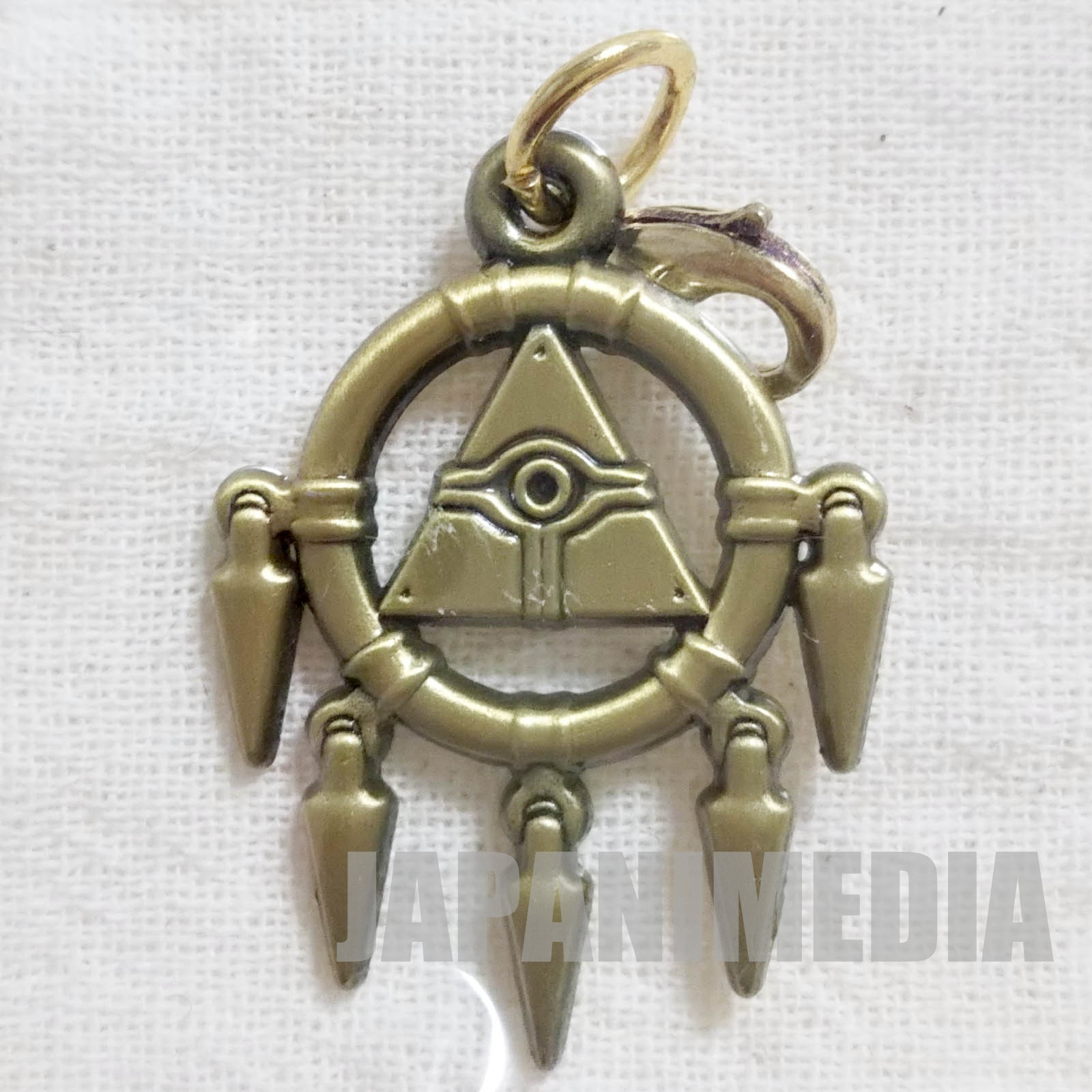 Yu-Gi-Oh! Millenium Ring 20th Millenium item Metal charm collection [4] JAPAN ANIME