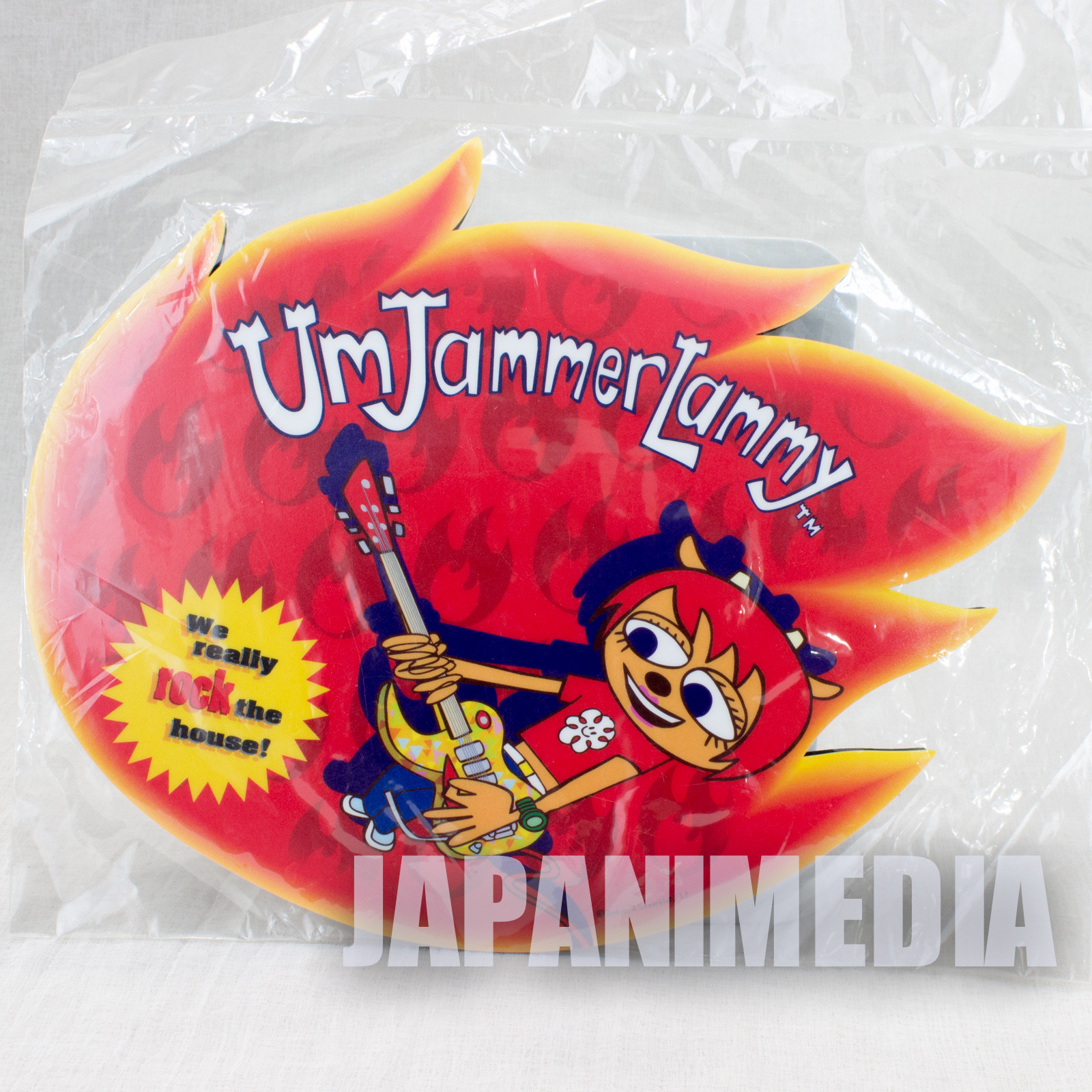Retro RARE! UmJammer Lammy Mouse Pad JAPAN ANIME GAME PARAPPA RAPPER