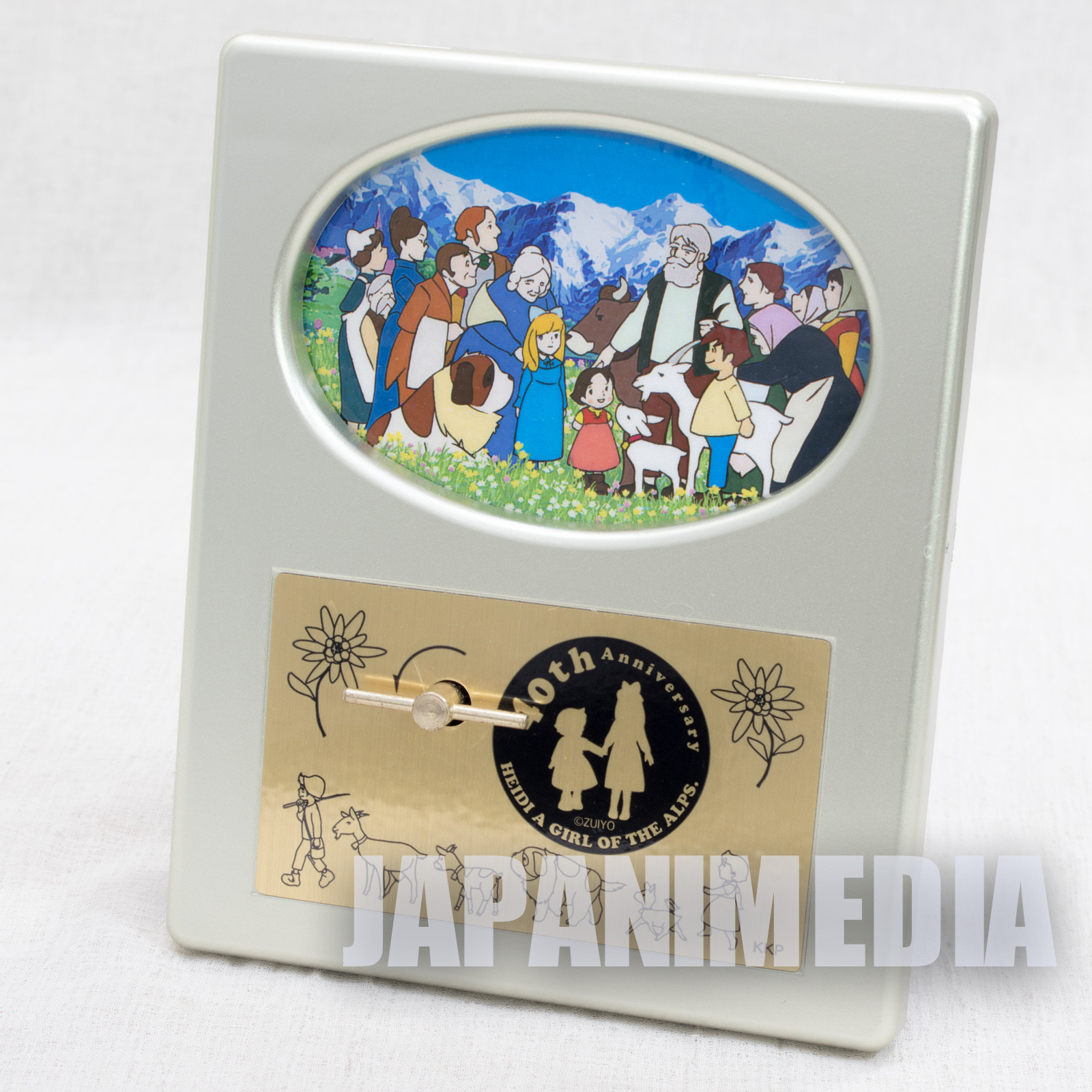 Heidi Girl of the Alps 40th Anniversary Limited Music Box Op Theme Song JAPAN 2