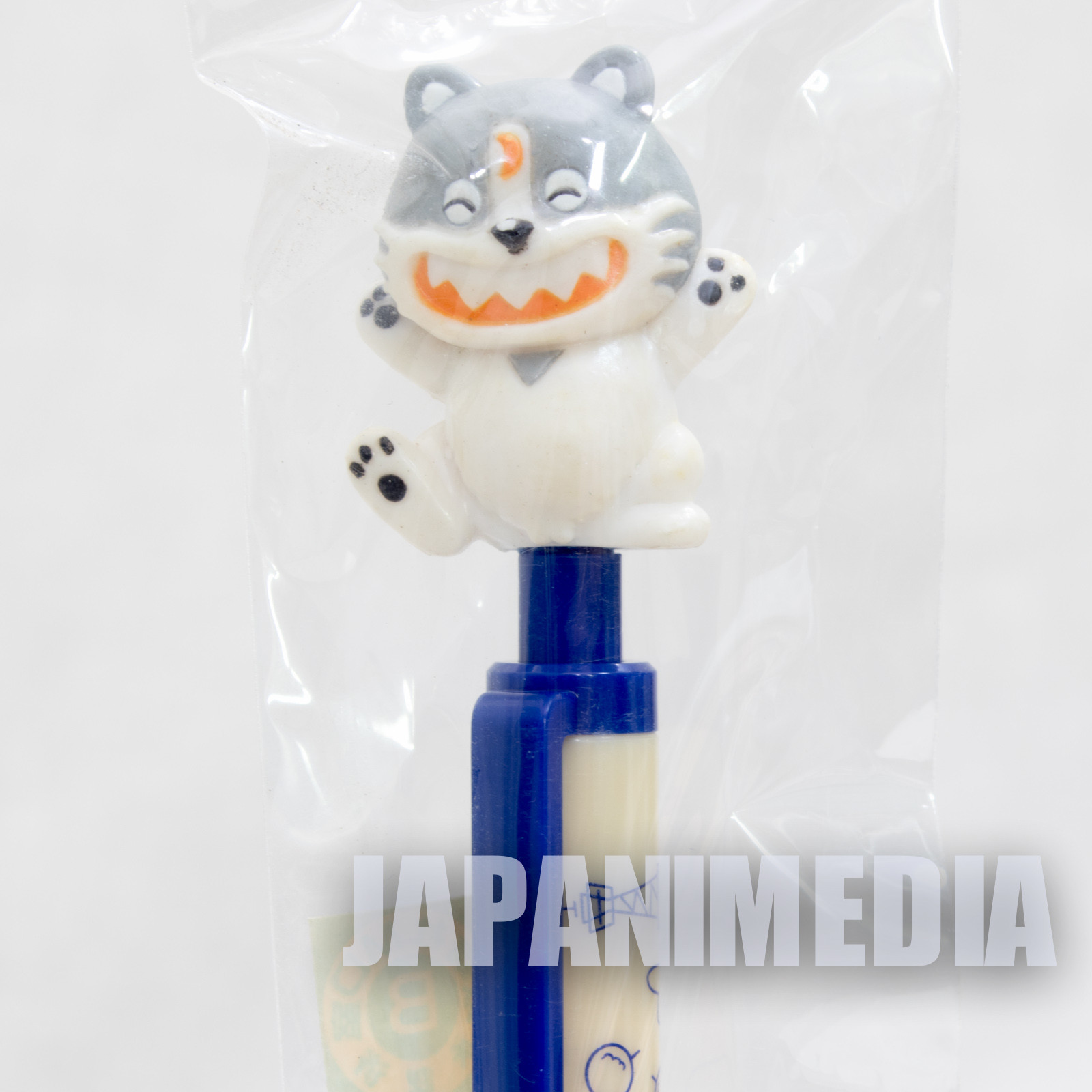 RARE!! Jarinko Chie Kotetsu Mechanical pencil with Figure Japan ANIME MANGA