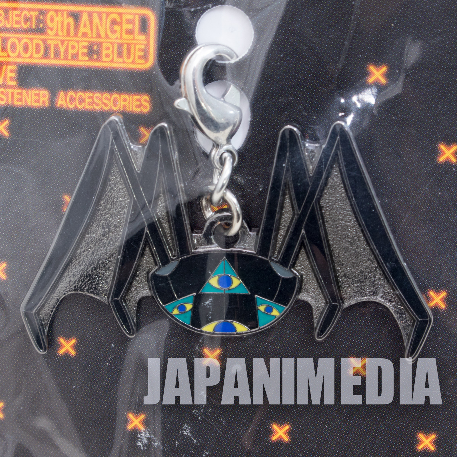 Evangelion 9th Angel Shito Matarael Fastener Accessories JAPAN ANIME MANGA