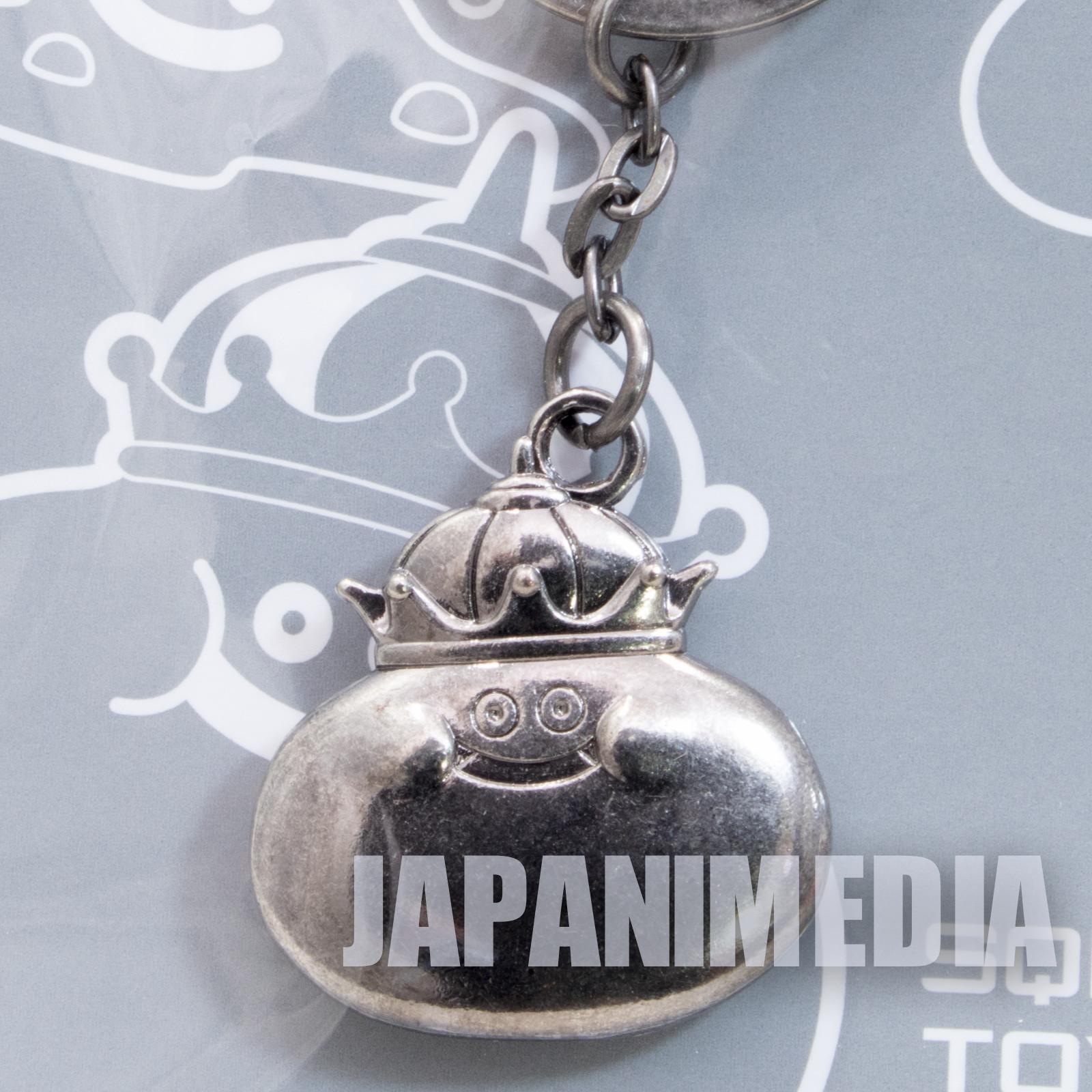 Dragon Quest Metal Charm Keychain Metal King SQEX TOYS JAPAN WARRIOR