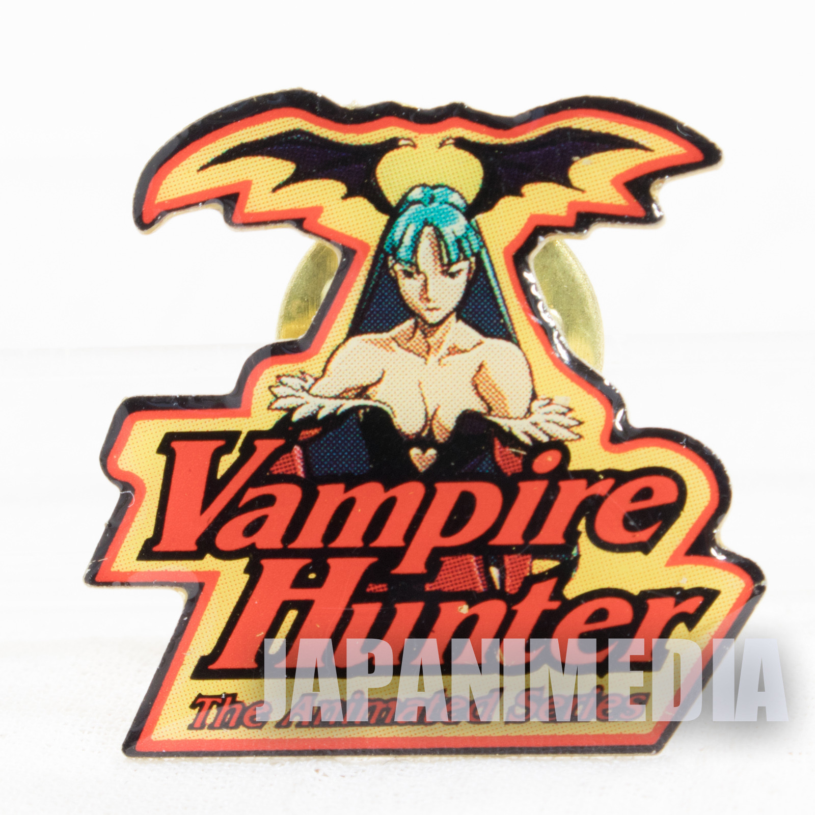 Darkstalkers (Vampire) Morrigan Metal Pins Capcom Character JAPAN HUNTER SAVIOR
