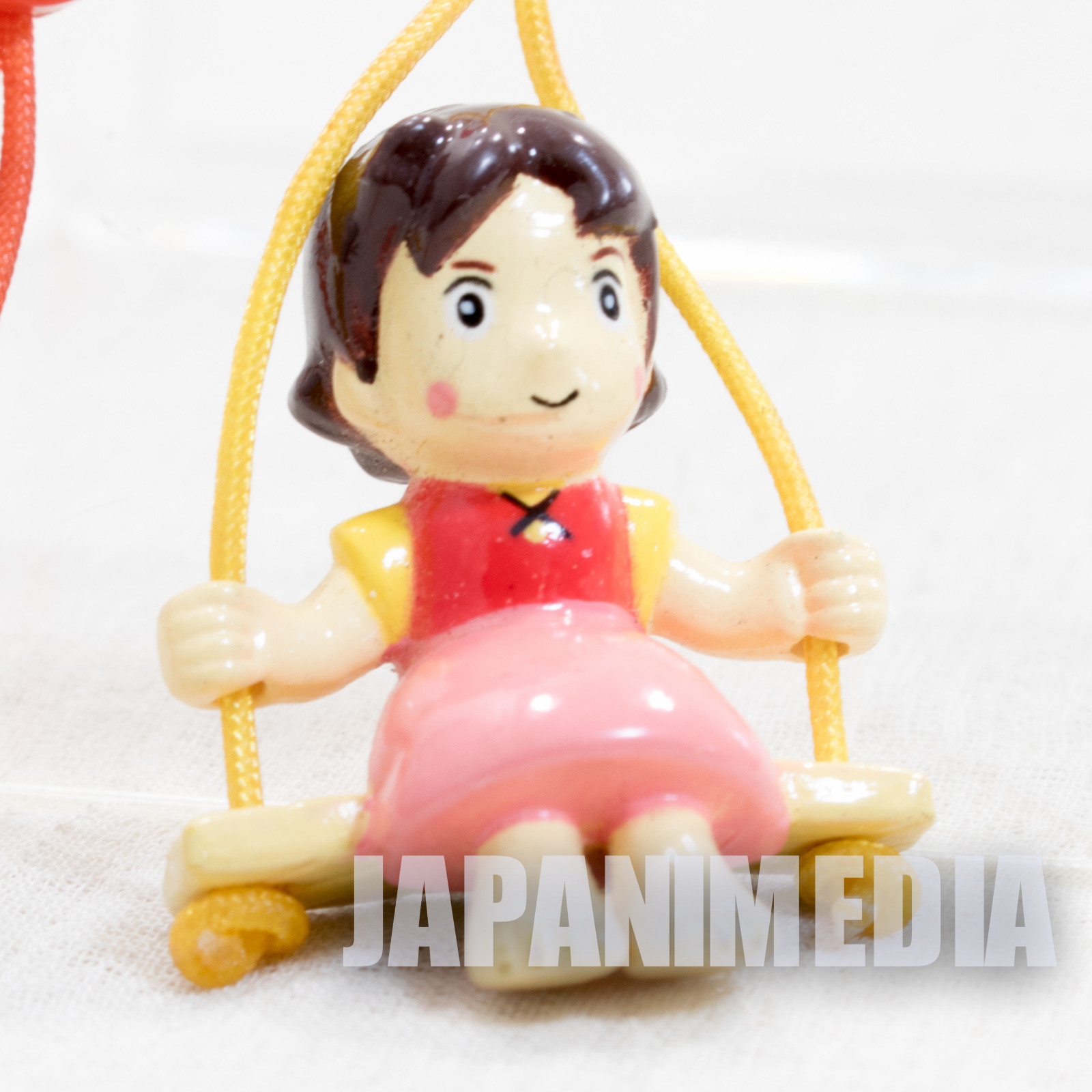 Heidi Girl of the Alps HEIDI on Swing Figure Strap JAPAN ANIME HAYAO MIYAZAKI