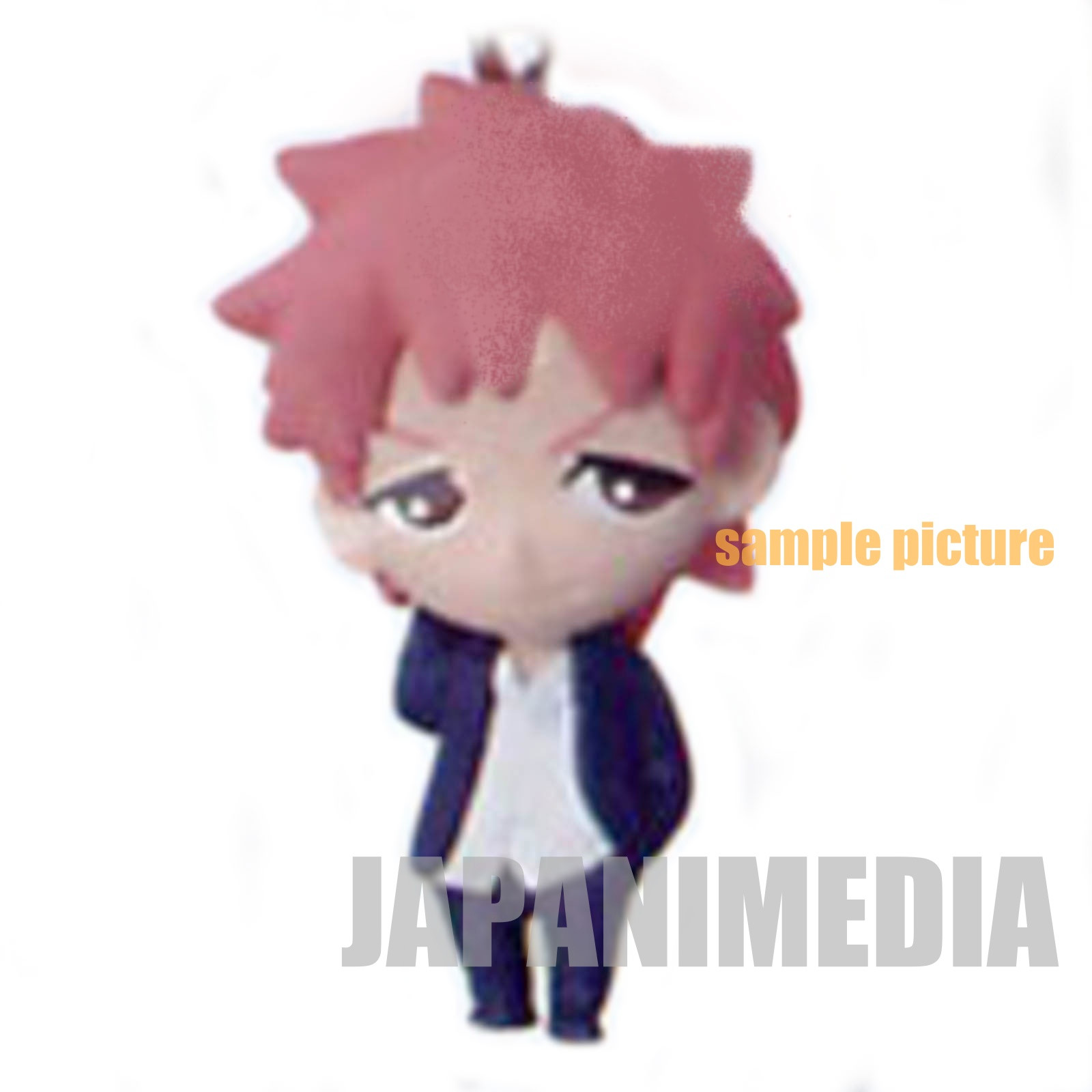 Blue Exorcist Rin Okumura Black Cat Green Mabn Pet Plush Doll Toy Strap