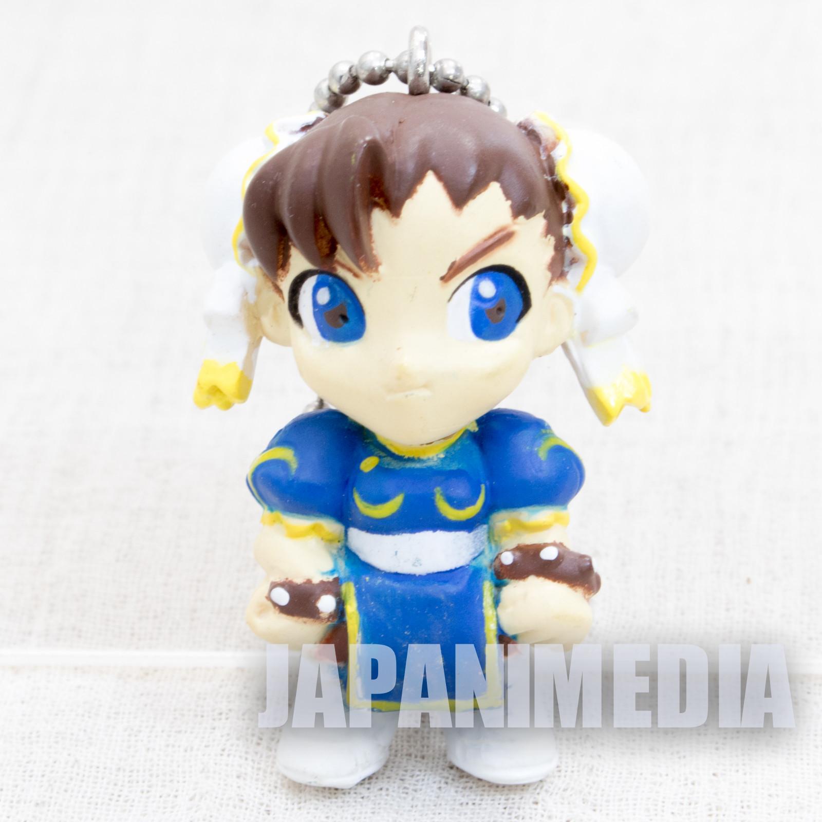 Street Fighter 2 Mini Figure Chun-Li Figure Ballchain Capcom JAPAN GAME2
