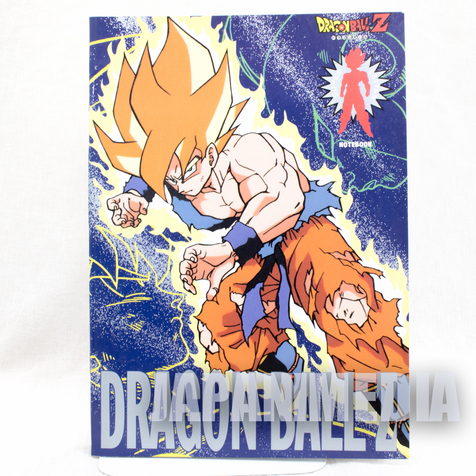 Retro Rare! Dragon Ball Z Notebook Super Saiyan Son Gokou JAPAN 2