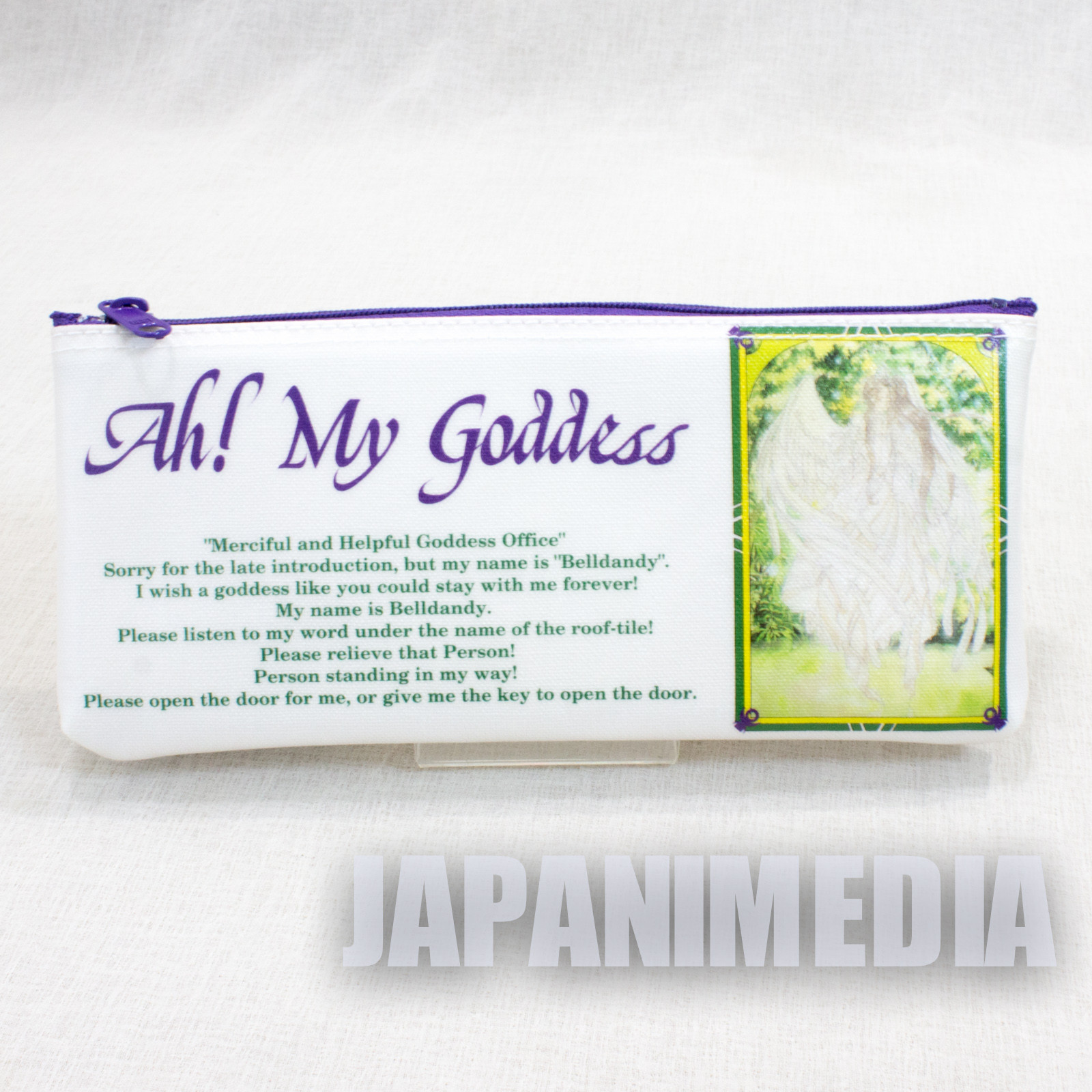 Ah! My Goddess Soft Pen Case Belldandy Urd JAPAN ANIME MANGA