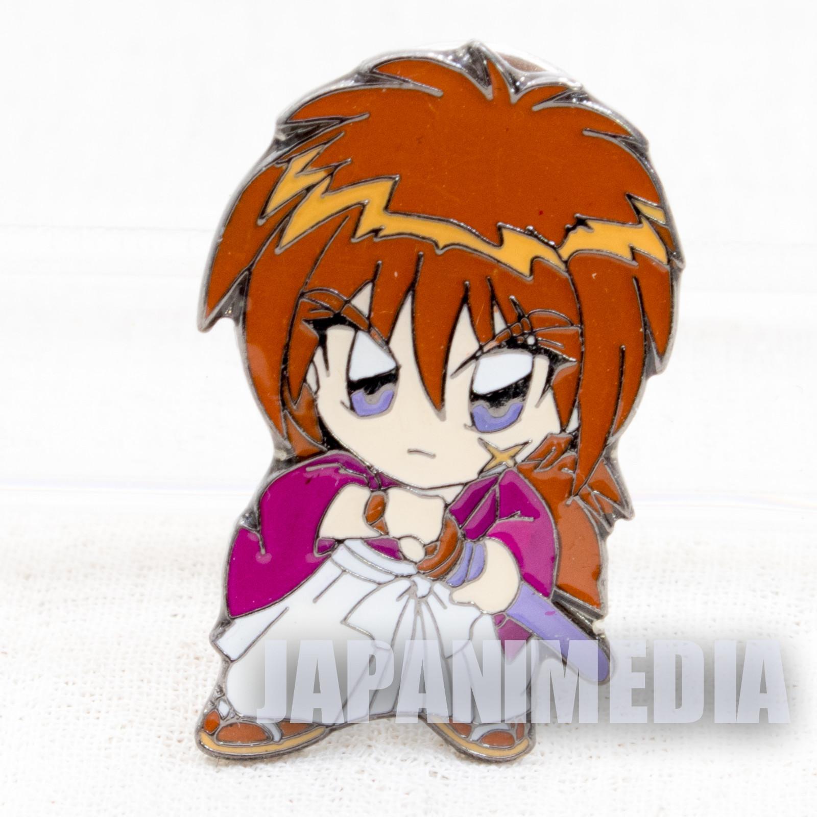 Rurouni Kenshin Kenshin Himura Pins JAPAN ANIME