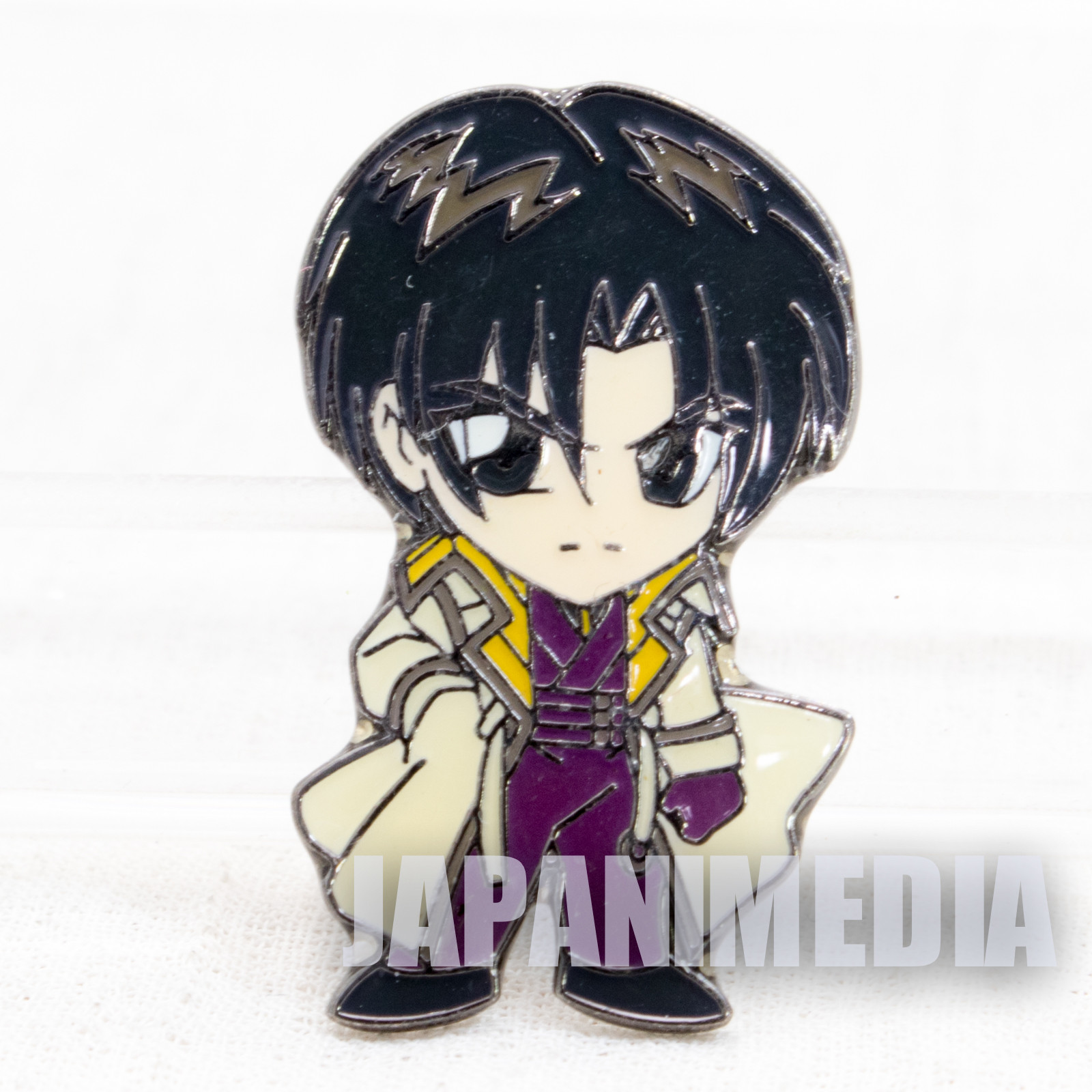 Rurouni Kenshin Aoshi Shinomori Pins JAPAN ANIME