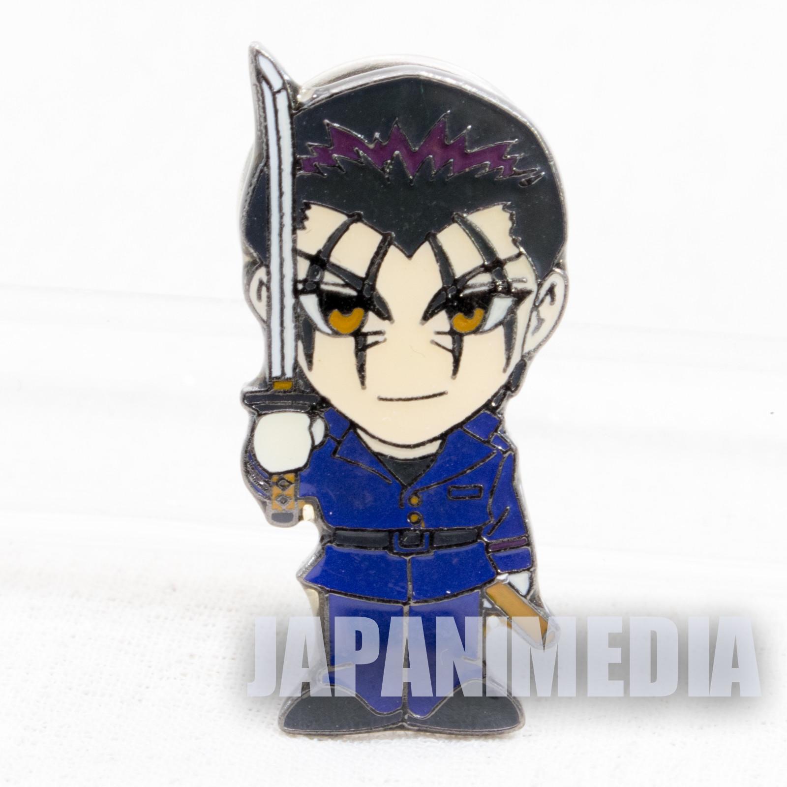 Rurouni Kenshin Hajime Saito Pins JAPAN ANIME
