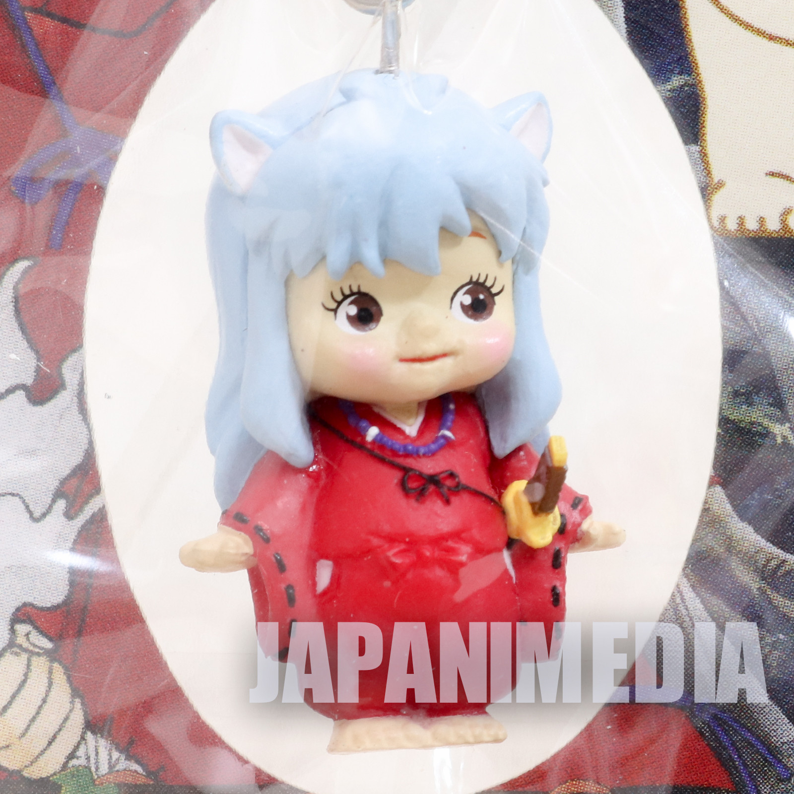 RARE! Inuyasha Rose O'neill Kewpie Kewsion Figure Strap JAPAN ANIME 2