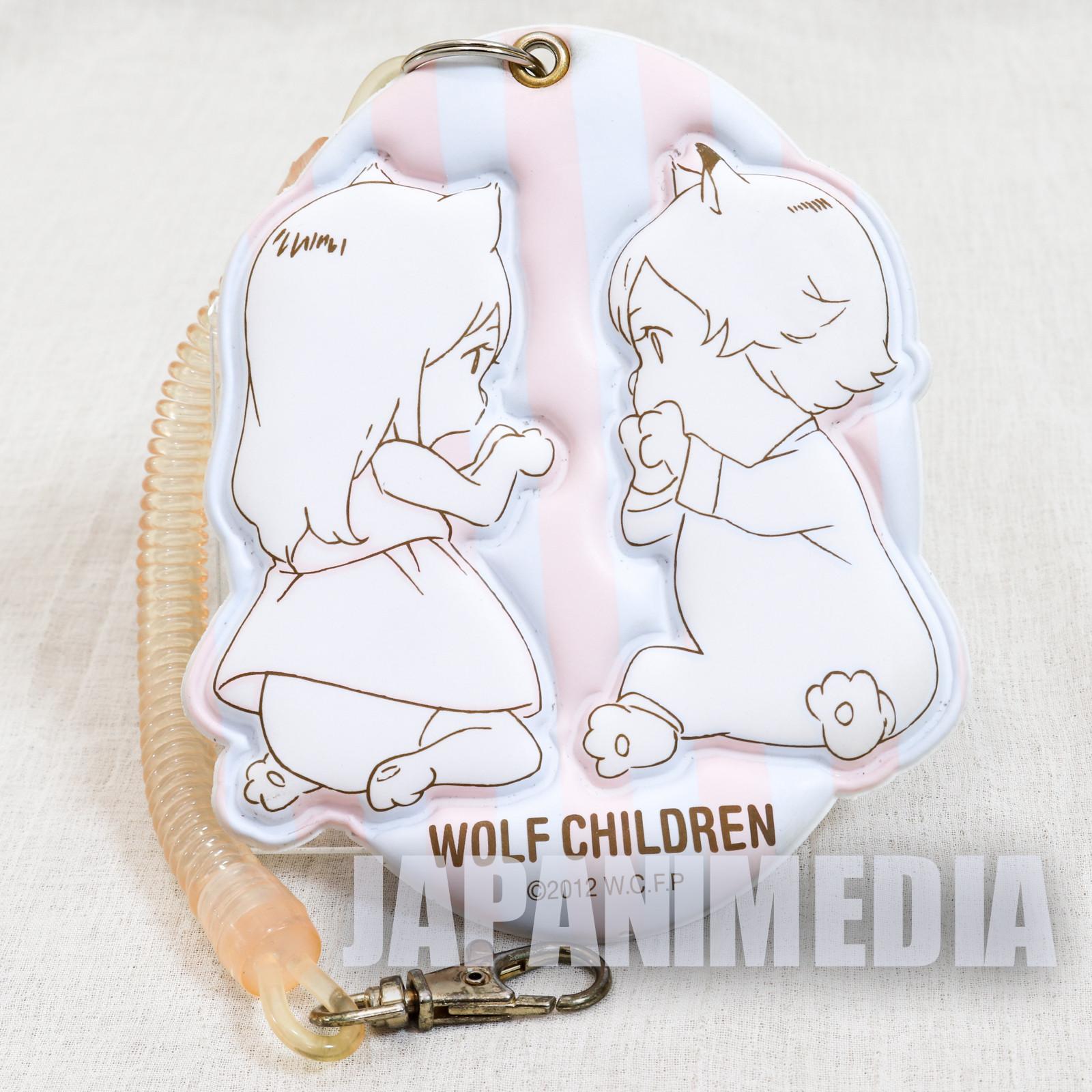 Wolf Children AME YUKI Pass Card Case Ookami Kodomo JAPAN ANIME