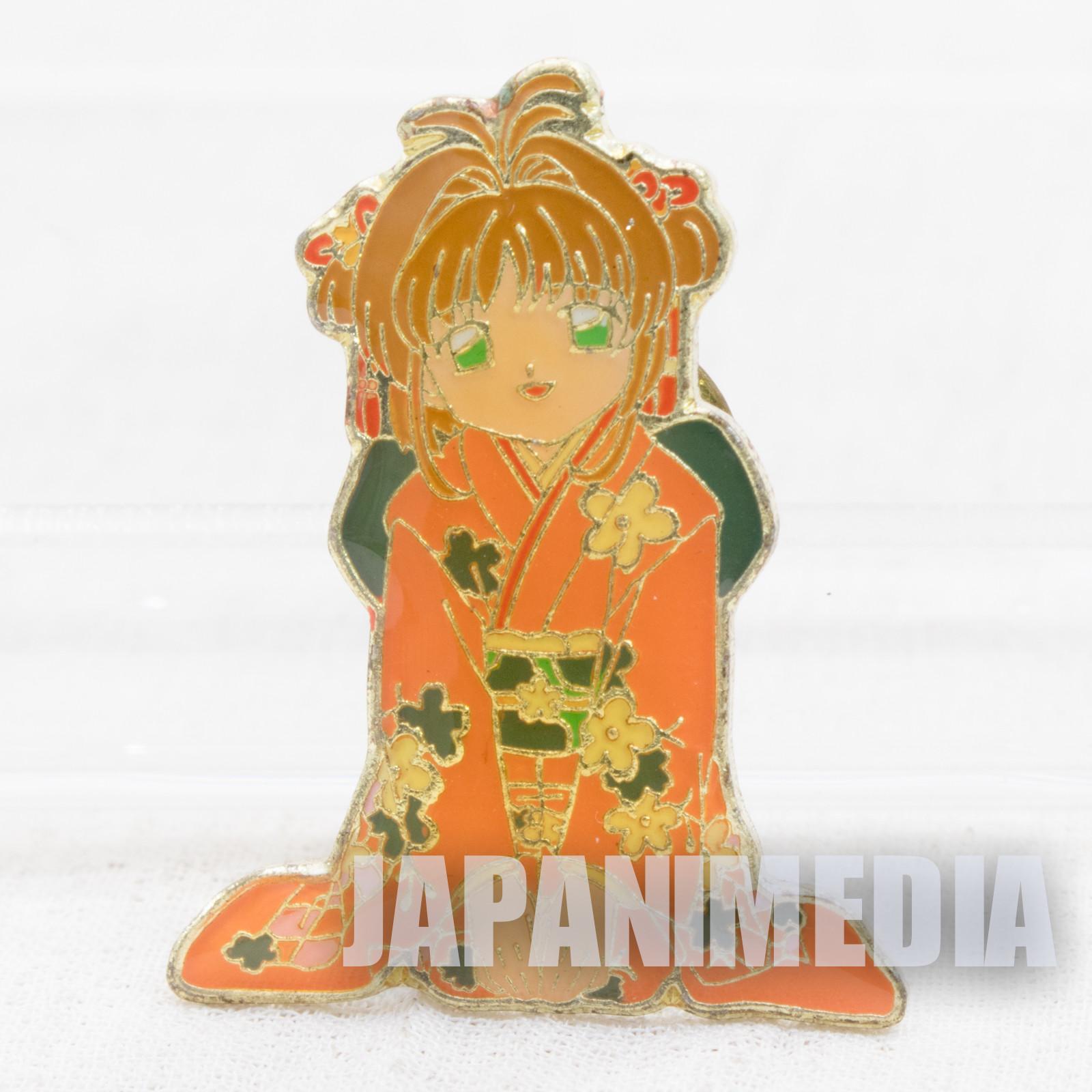 Cardcaptor Sakura Sakura Kinomoto Sakura Pins (Kimono ver.) CLAMP JAPAN ANIME #6