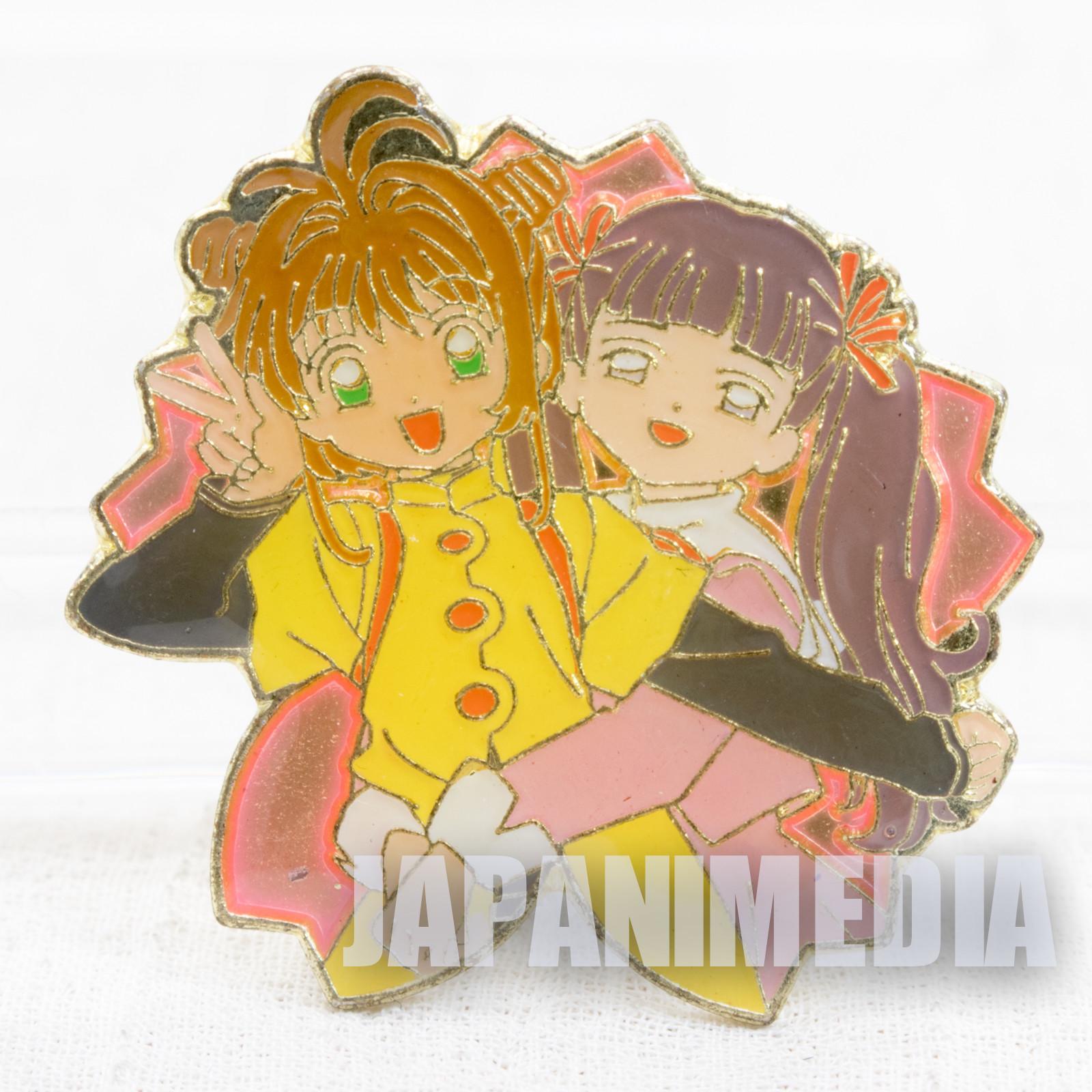 Cardcaptor Sakura Sakura & Tomoyo Sakura Pins CLAMP JAPAN ANIME #9